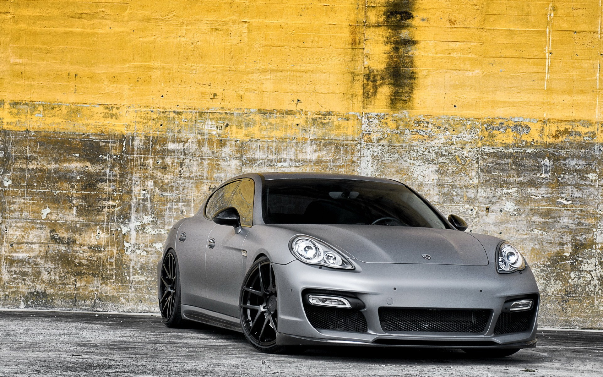 cars wheels matte Porsche Panamera HD Wallpaper