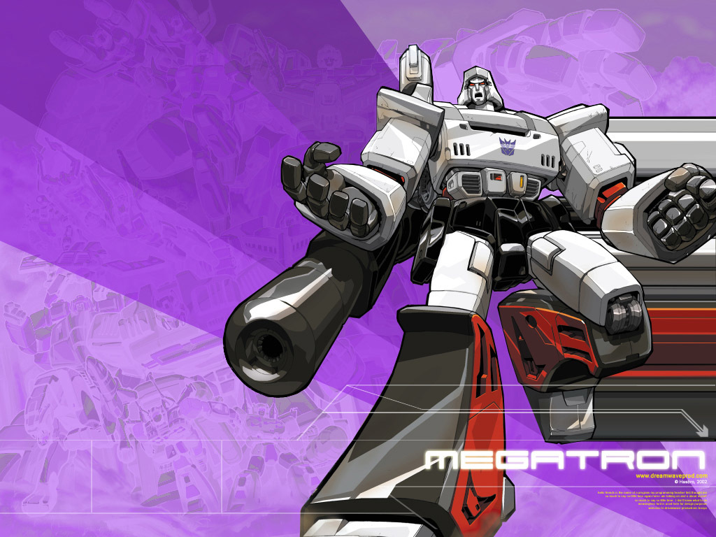 cartoon Transformers Megatron decepticon HD Wallpaper