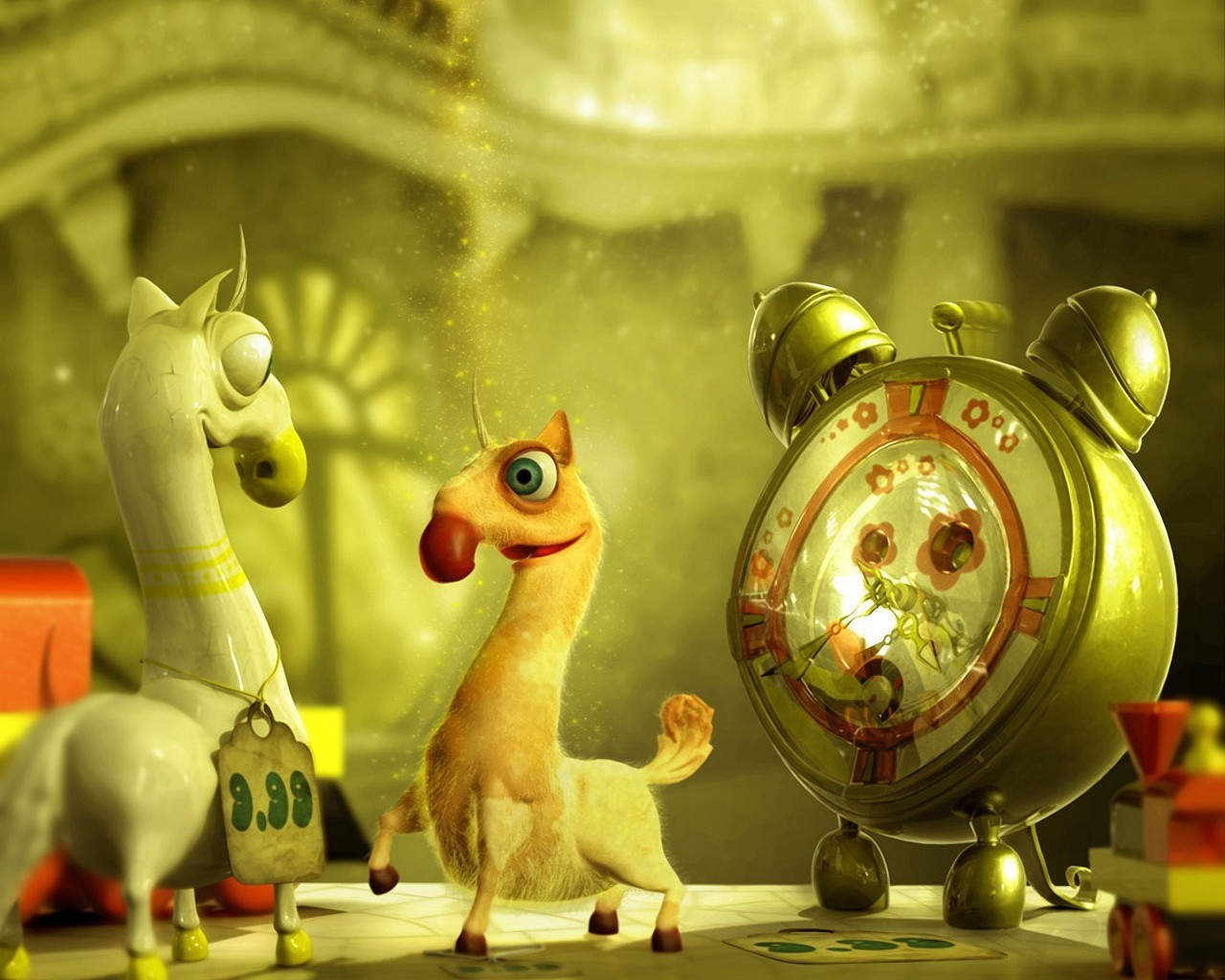 cartoons animated llama HD Wallpaper