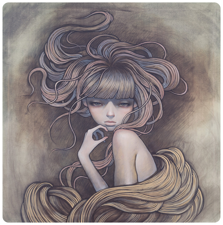 cartoons Audrey Kawasaki HD Wallpaper