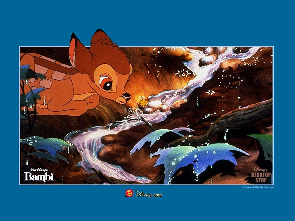 cartoons Disney Company Bambi HD Wallpaper