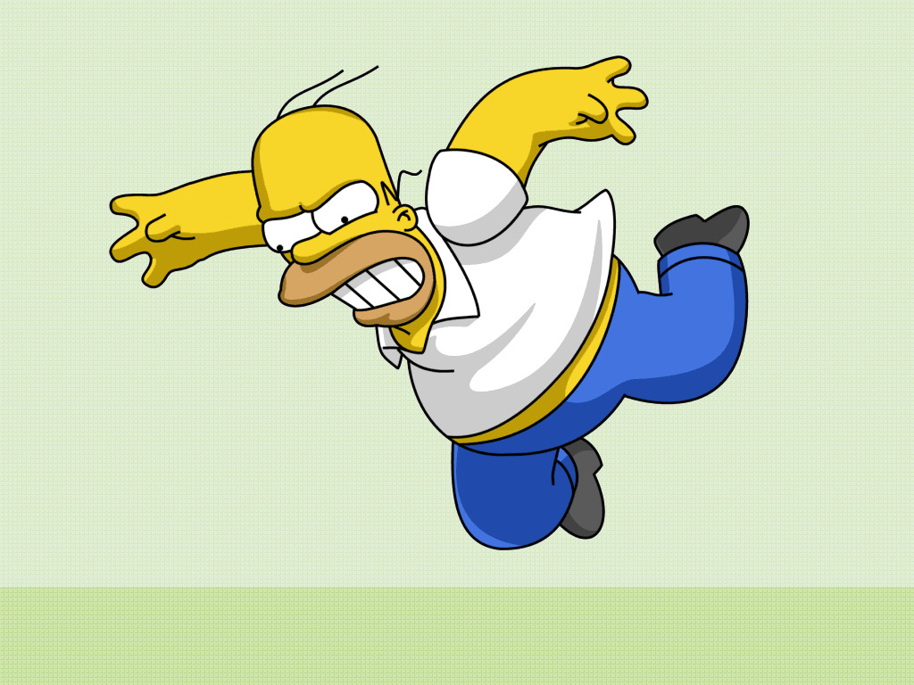 cartoons Homer simpson The HD Wallpaper