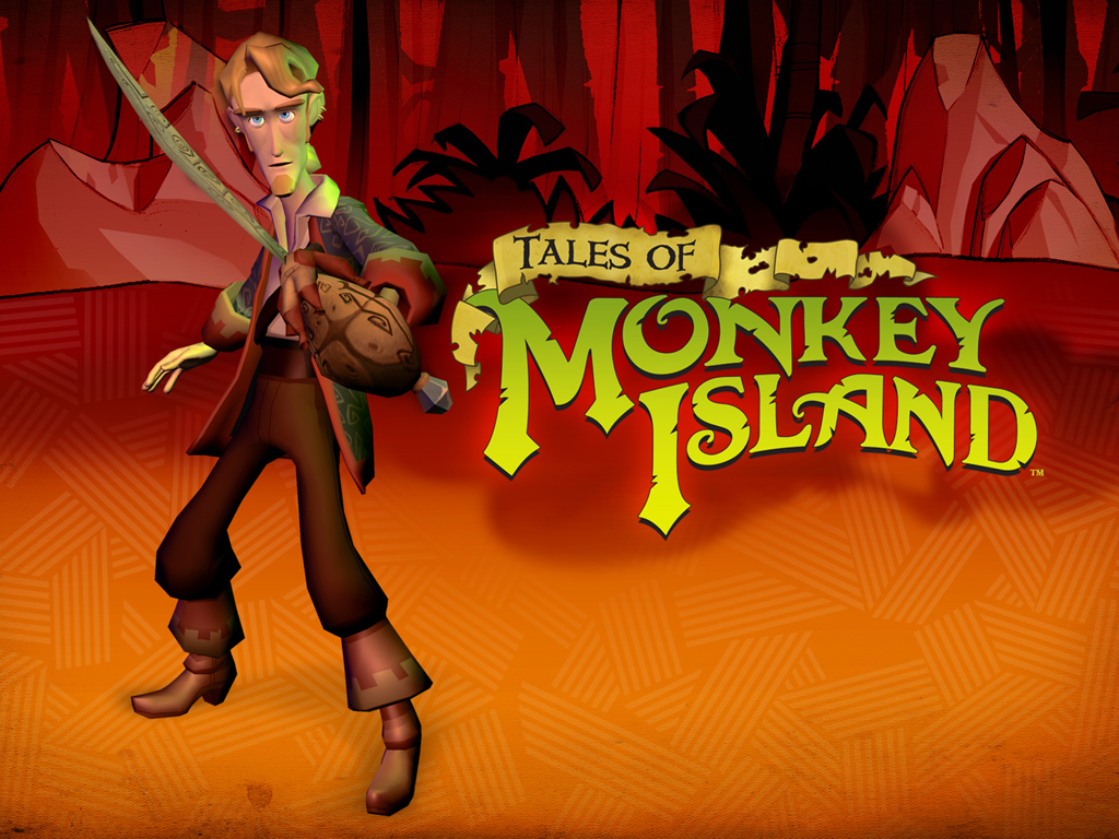 cartoons monkey Island Animals HD Wallpaper