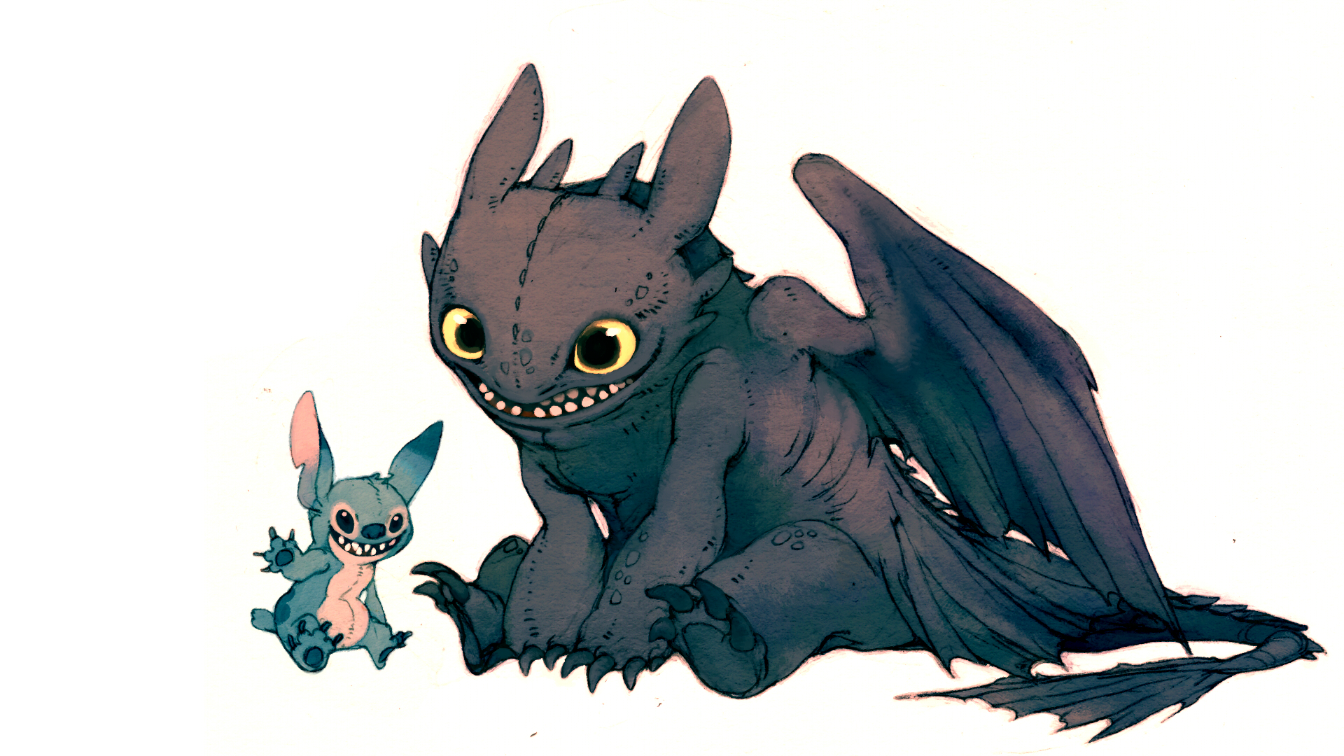 cartoons toothless How to HD Wallpaper