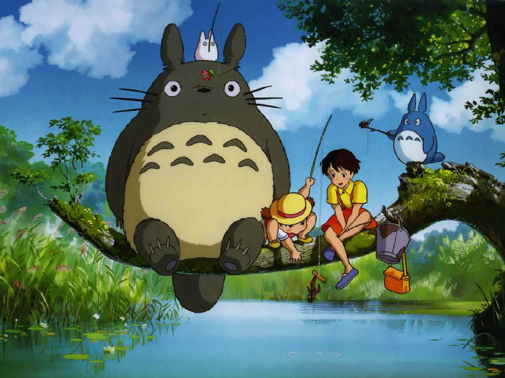 cartoons totoro My Neighbour