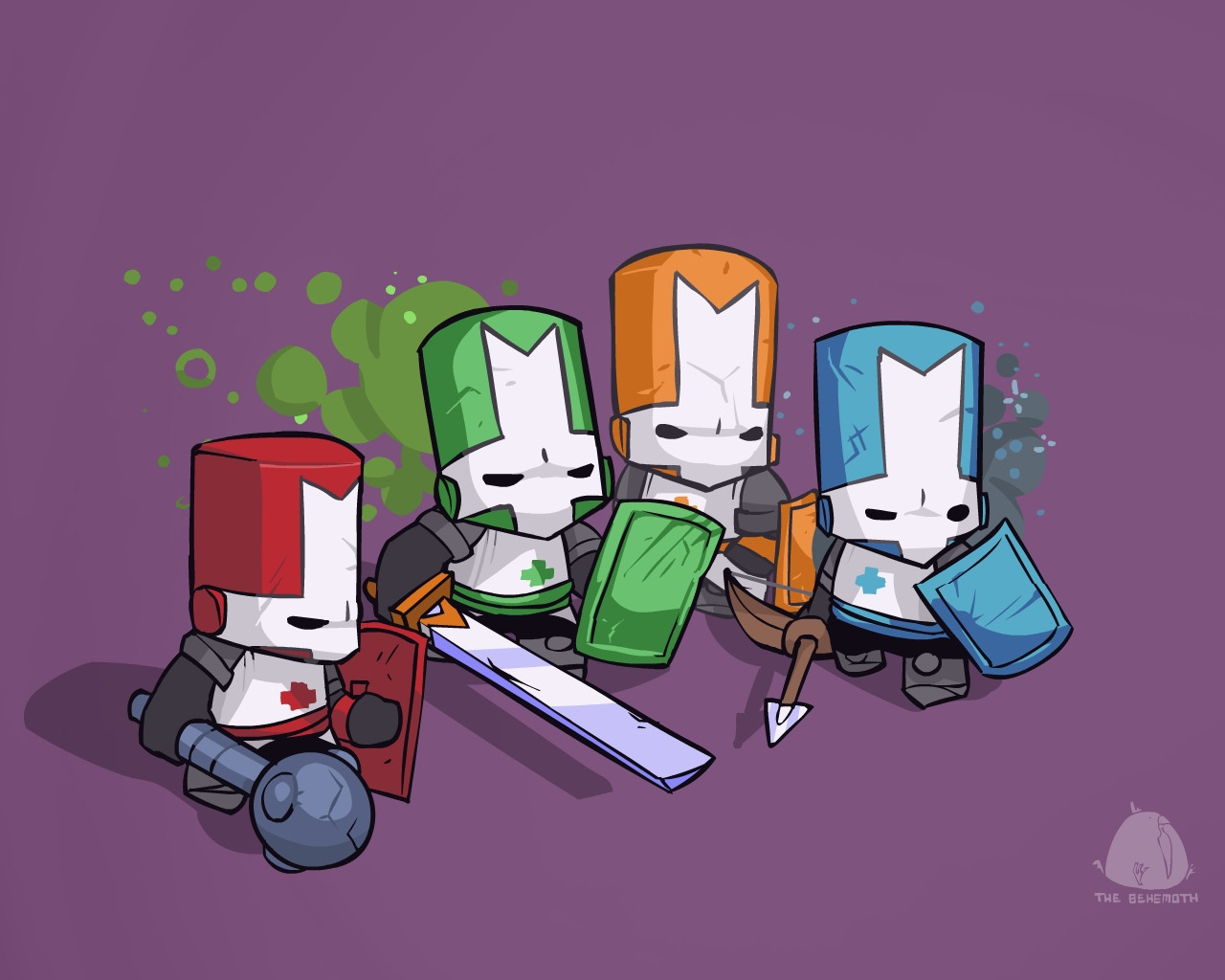 castle crashers architecture HD Wallpaper