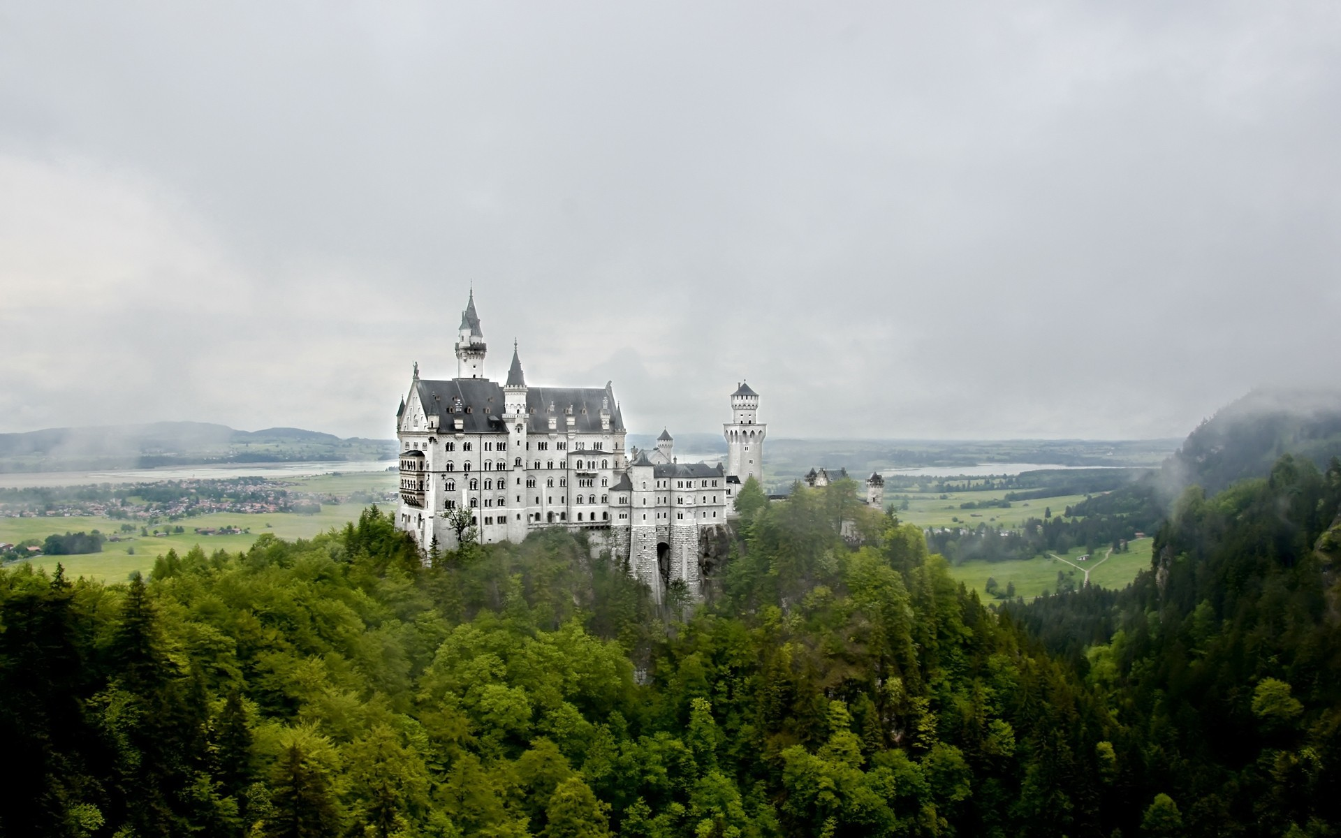 Castles neuschwanstein castle architecture HD Wallpaper