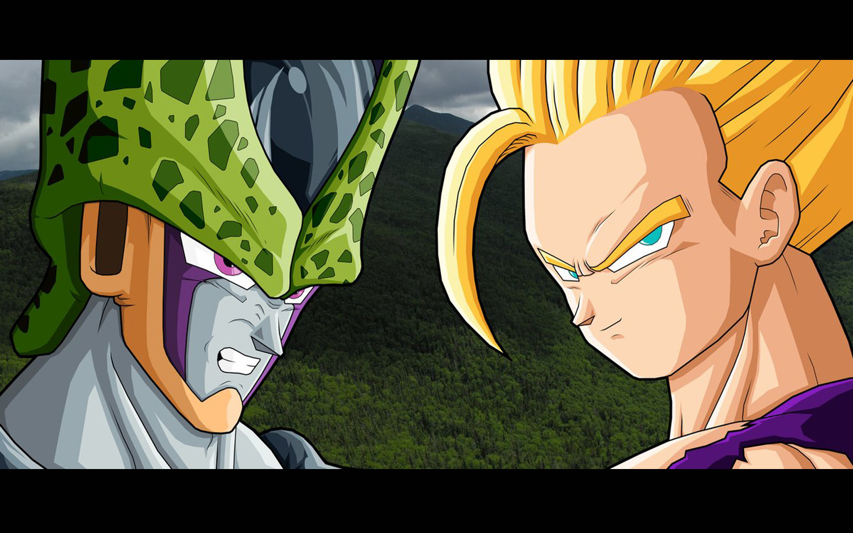 Cell son gohan dragon HD Wallpaper