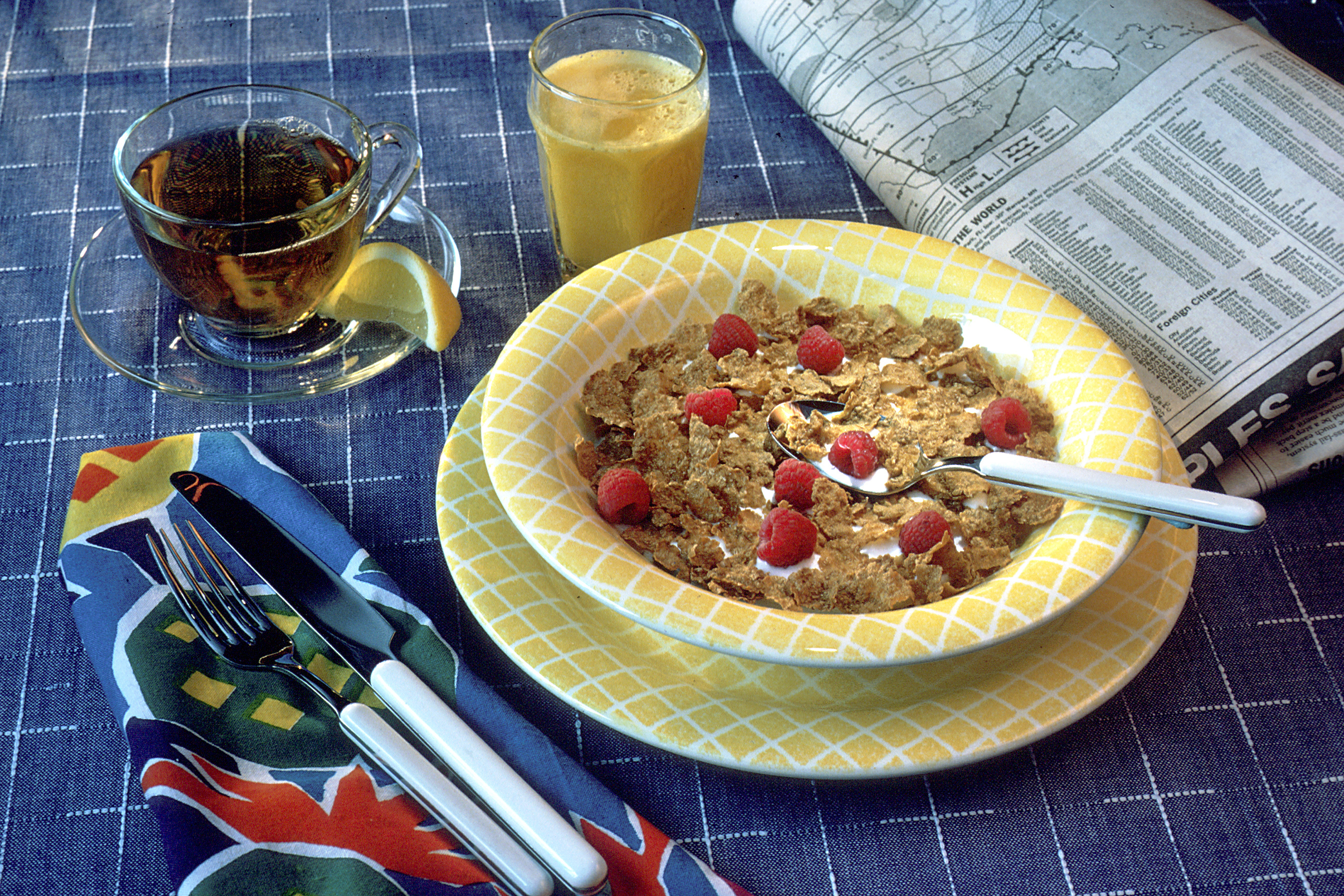cereal ) With of