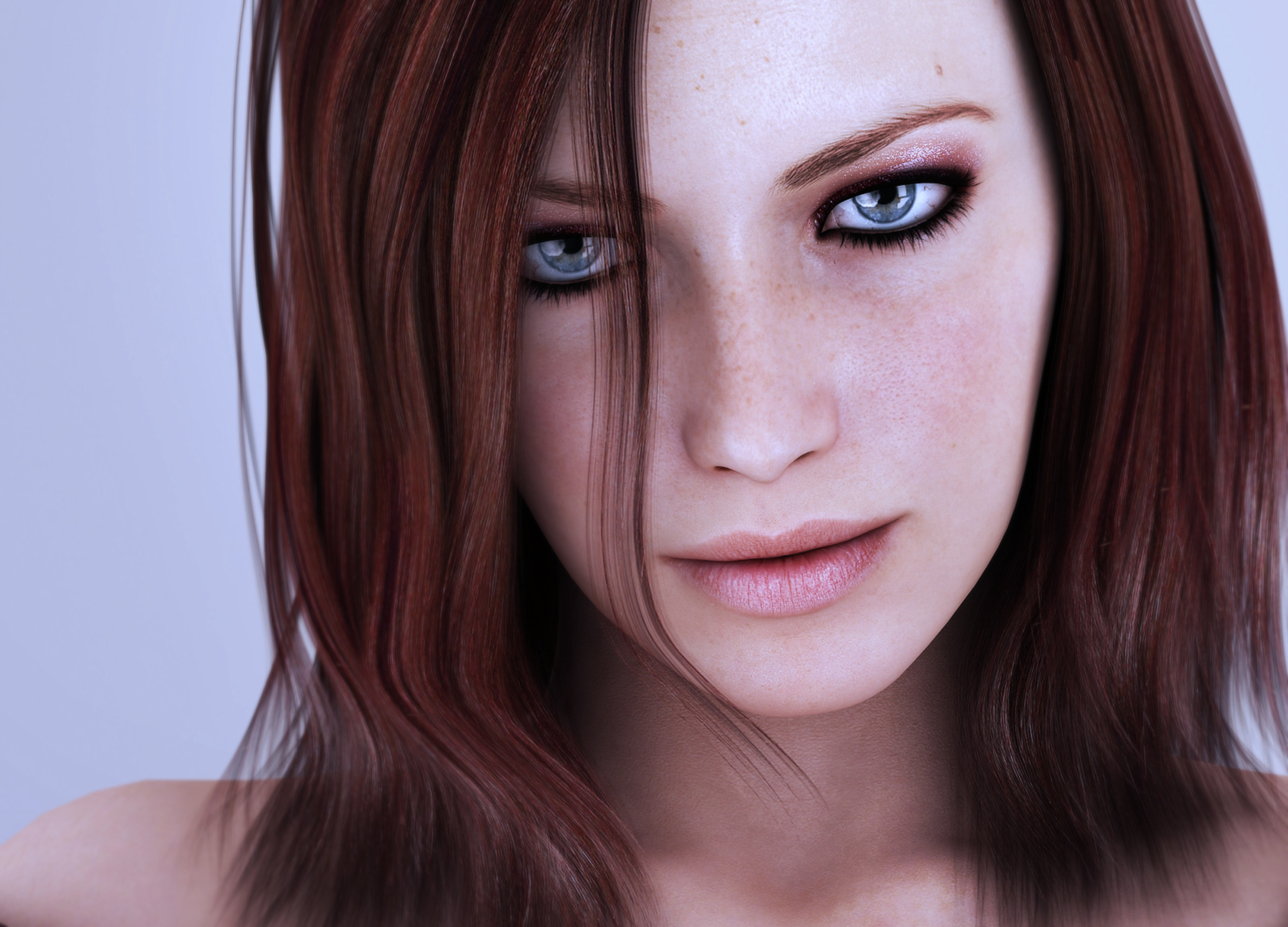 cgi 3D girls HD Wallpaper
