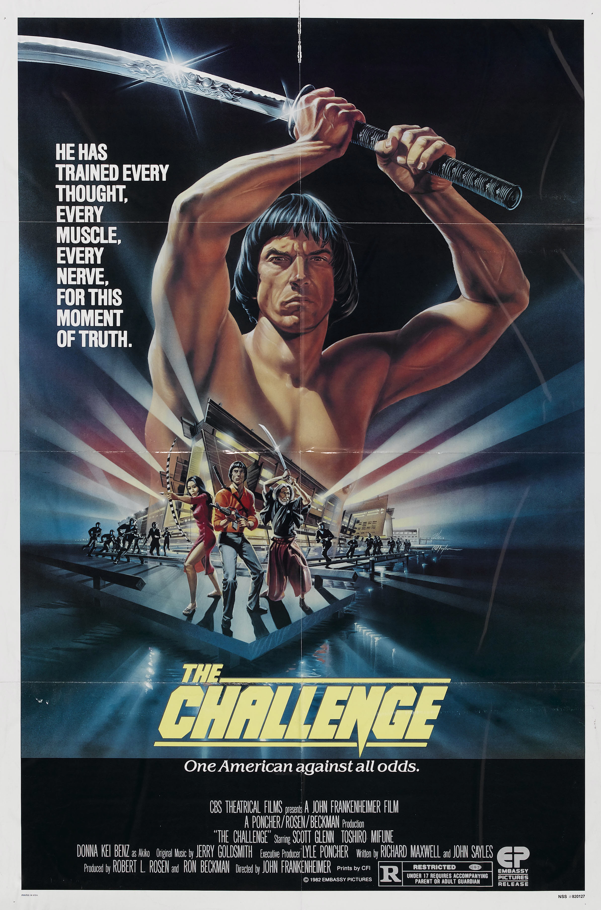 Challenge 1982 poster high HD Wallpaper