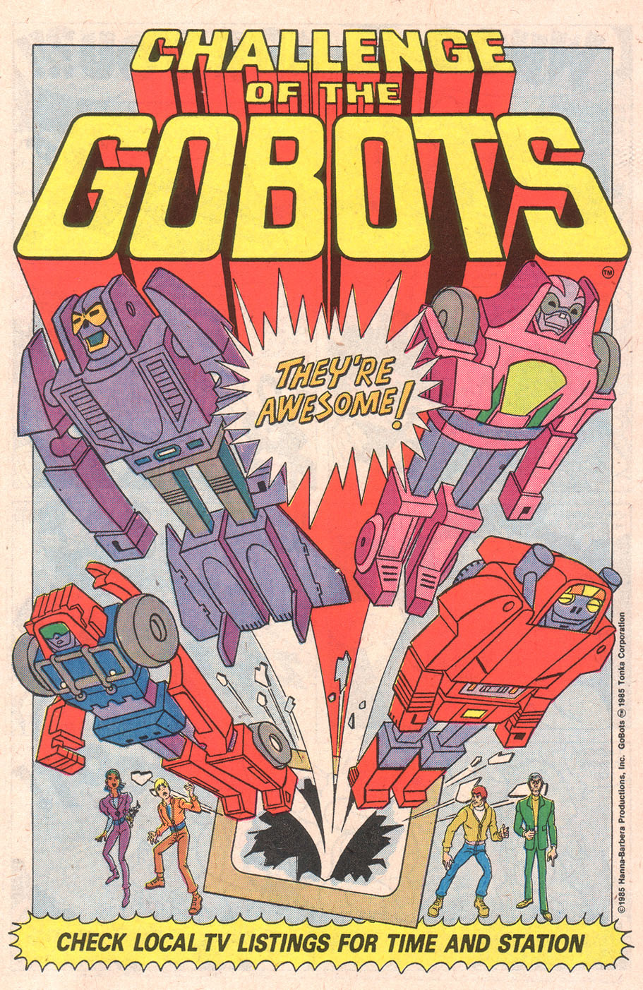 Challenge of The gobots HD Wallpaper