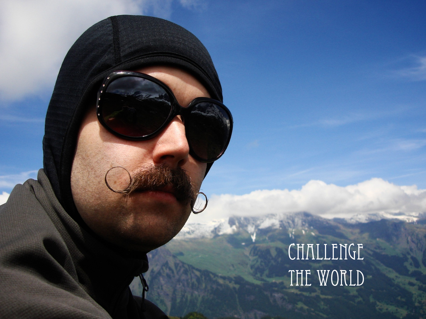 Challenge The World nothing HD Wallpaper
