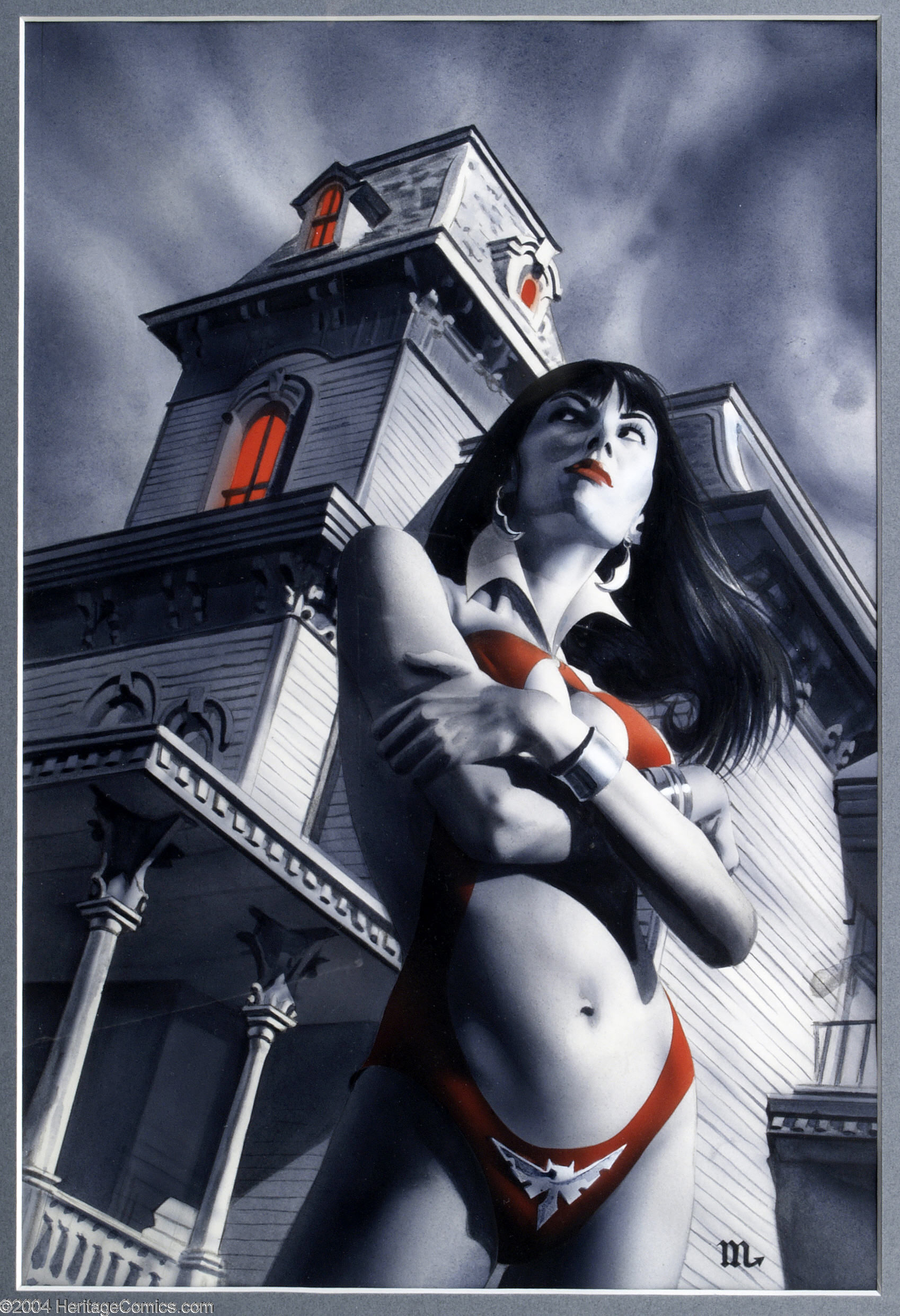 Character comic Vampirella HD Wallpaper