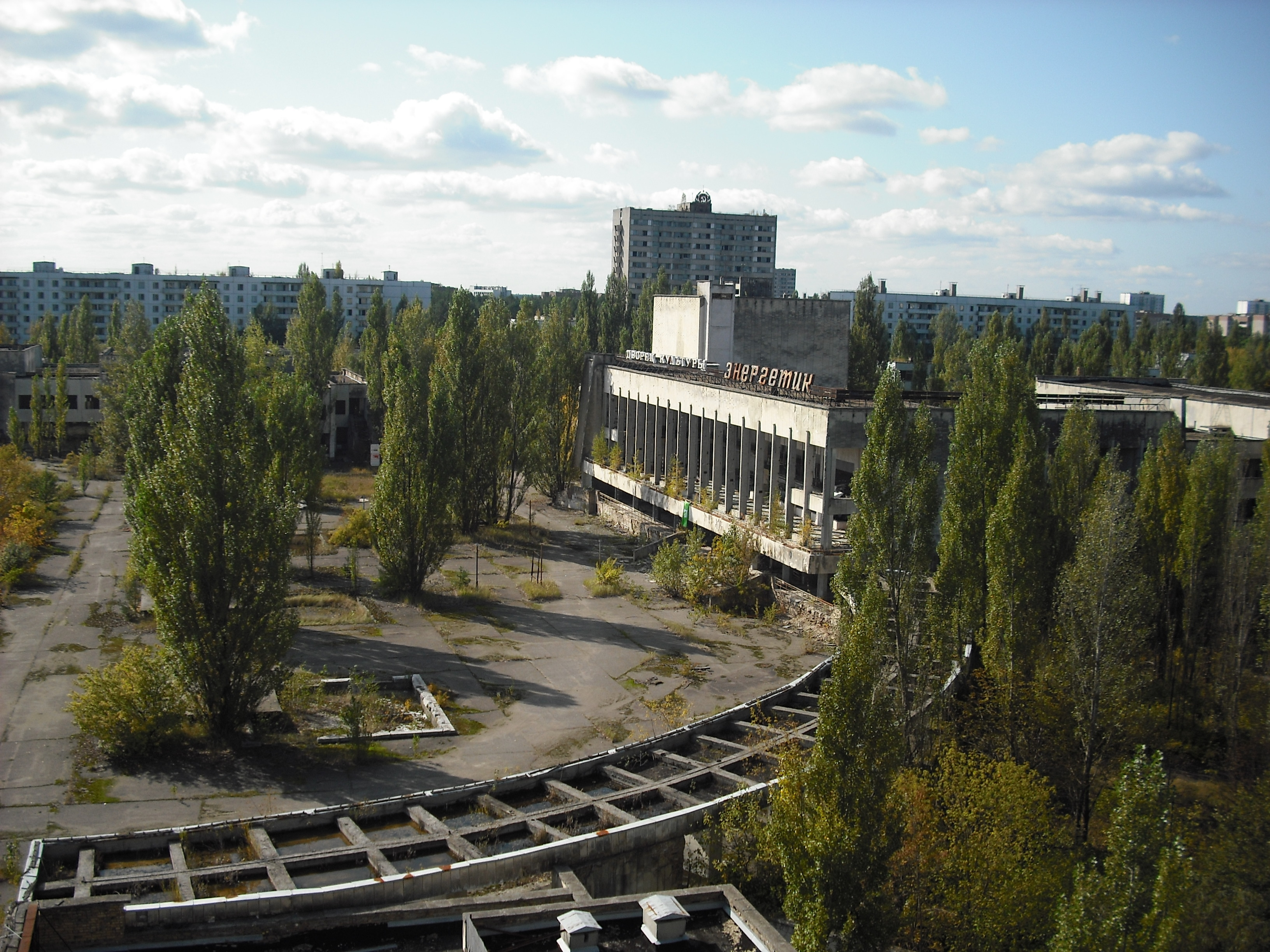 Chernobyl Pripyat abandoned City HD Wallpaper