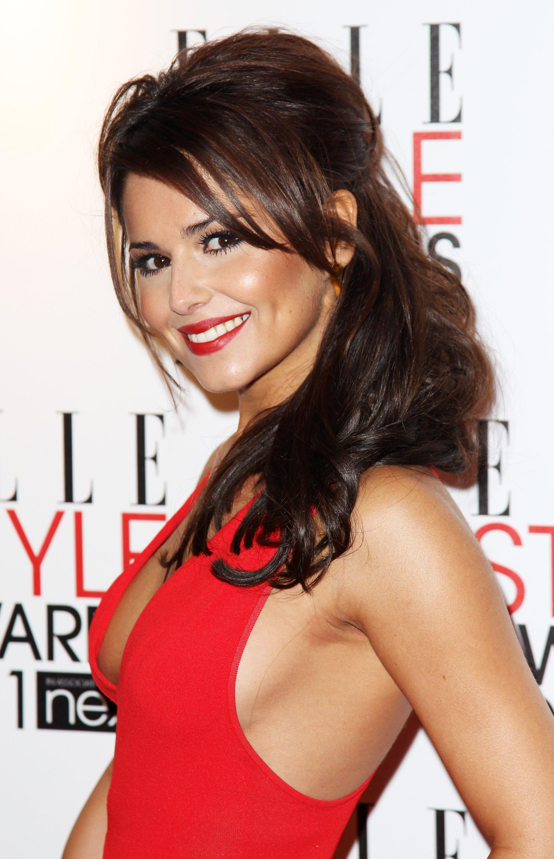 cheryl cole red dress HD Wallpaper