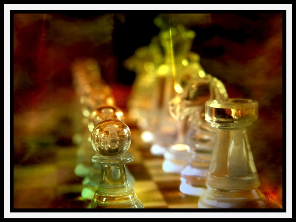 chess board by HD Wallpaper