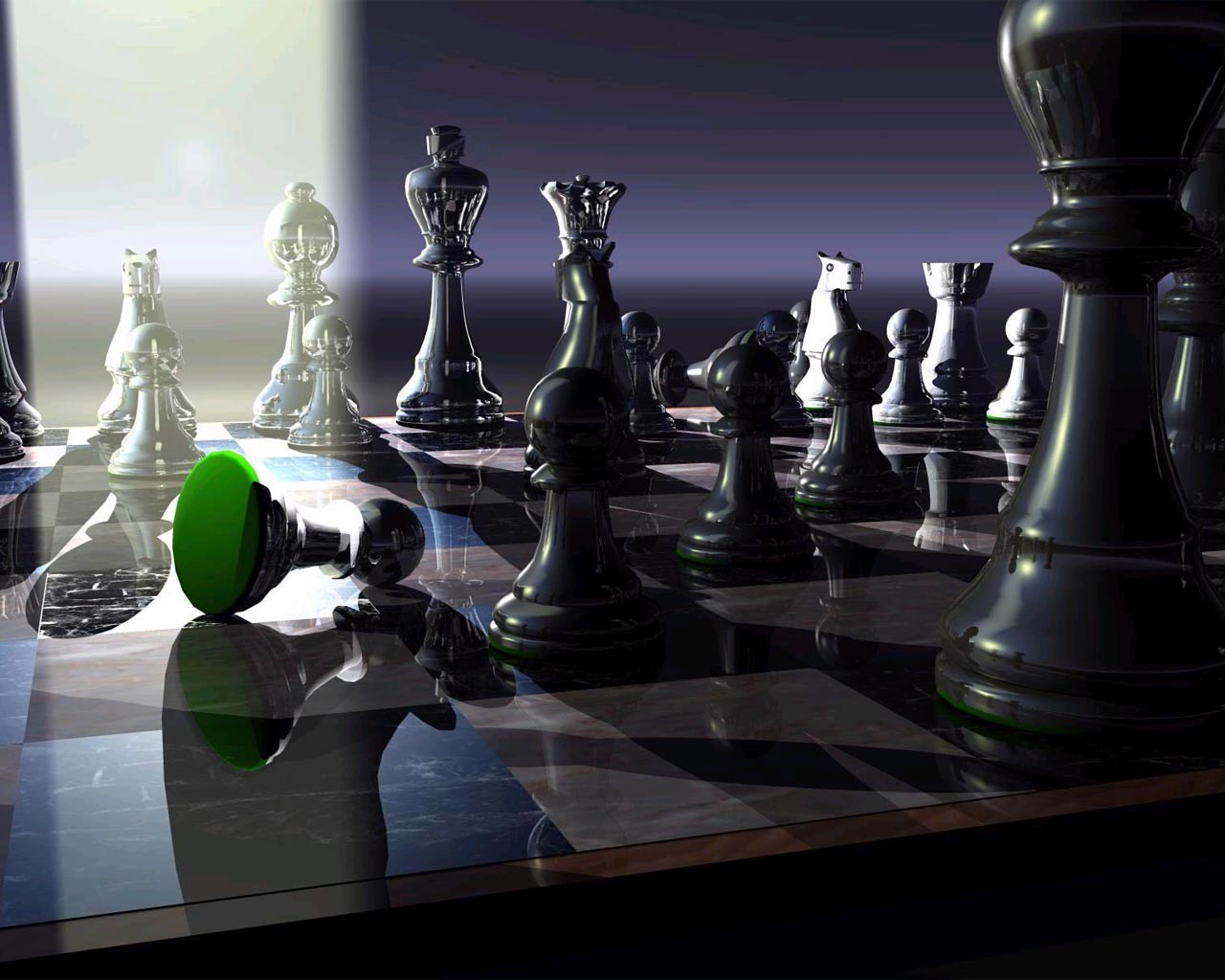 chess board game HD Wallpaper