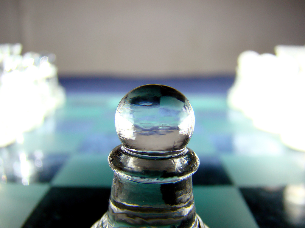 chess glass abstract HD Wallpaper