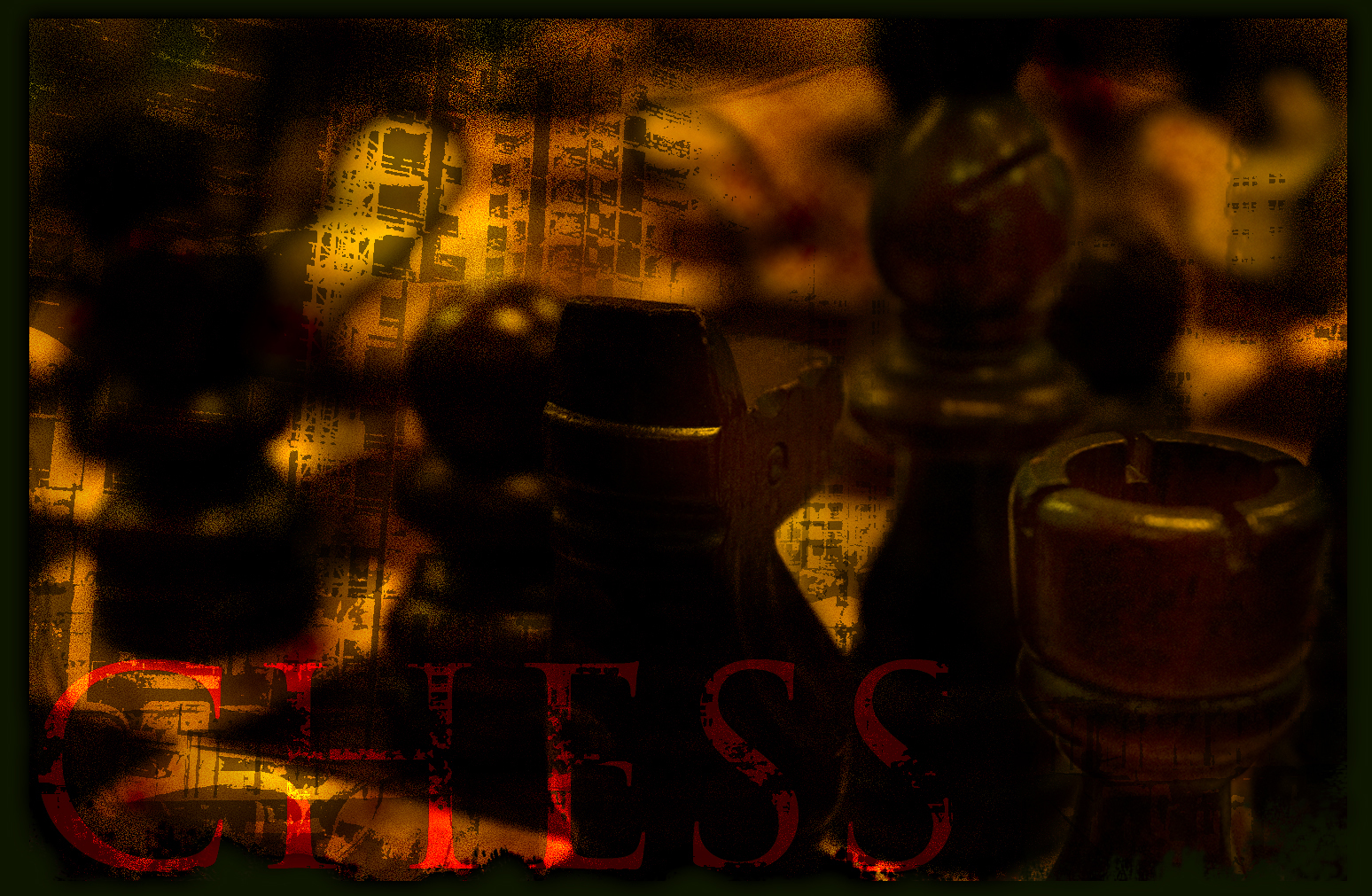 chess grunge brownage reporting HD Wallpaper