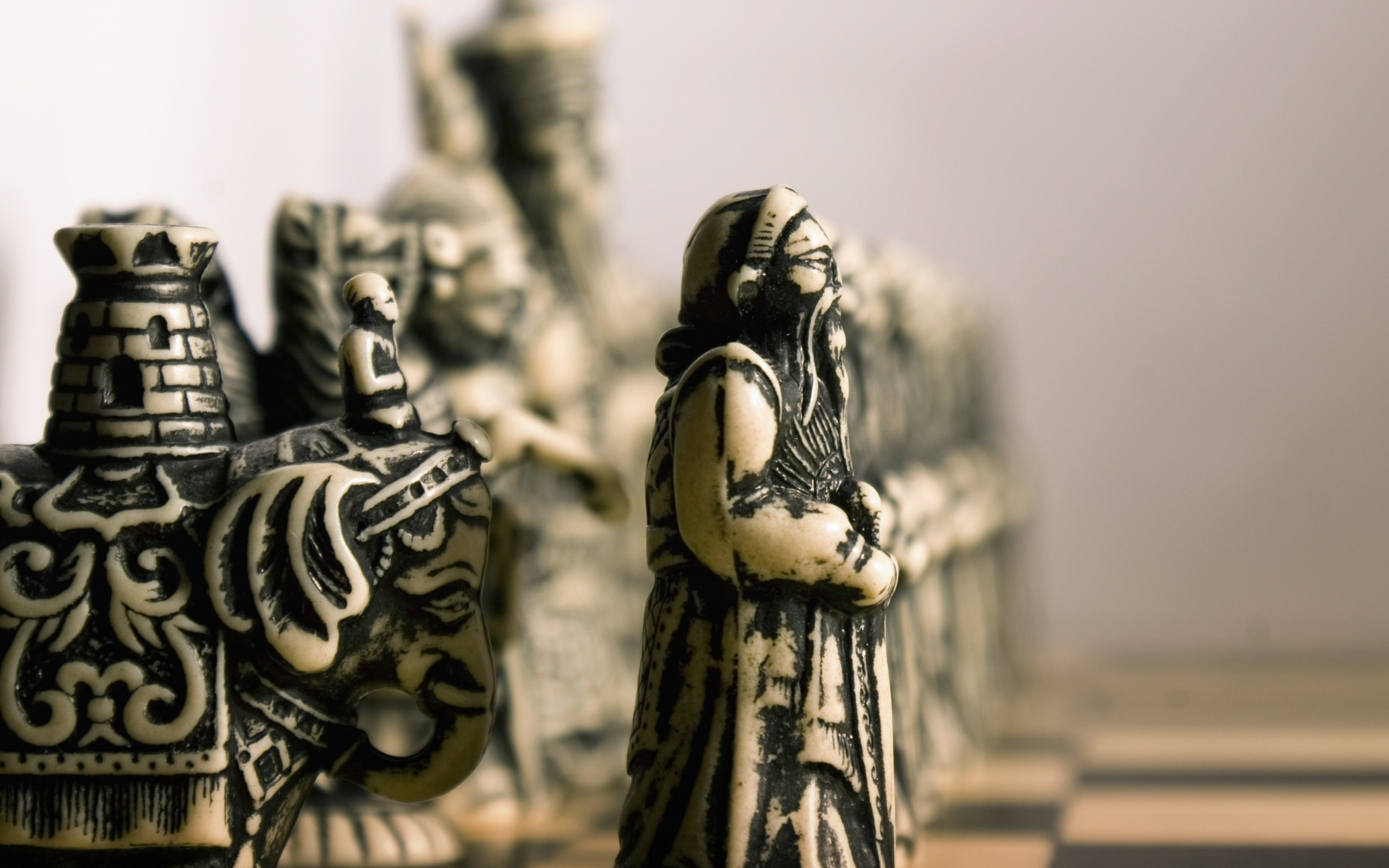 chess miniature HD Wallpaper