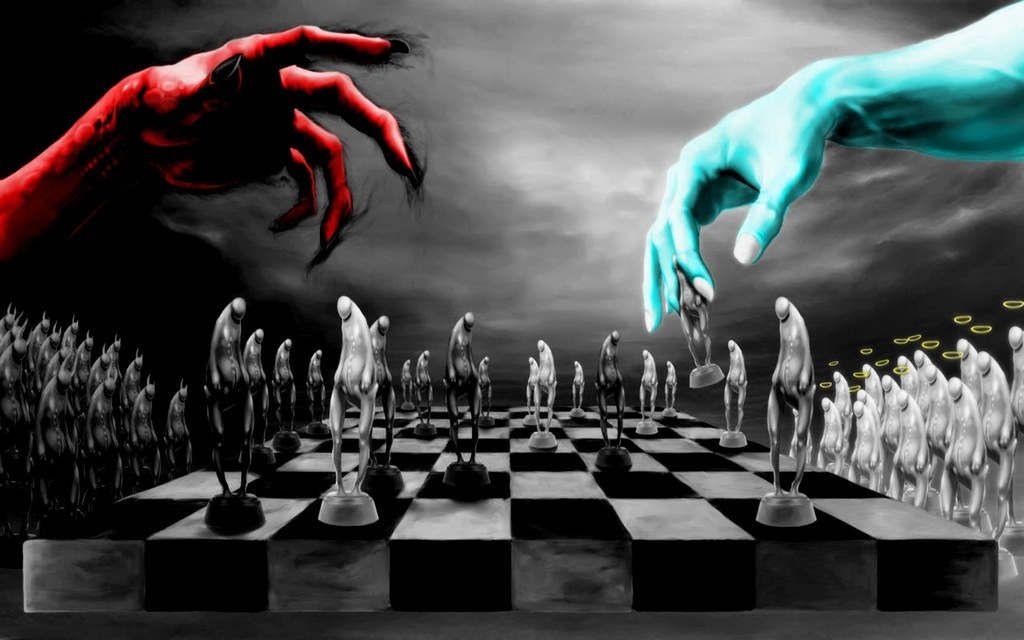 chess pieces chess board HD Wallpaper
