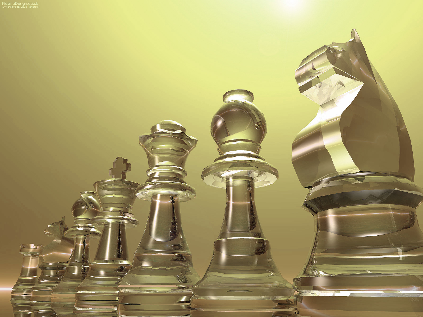 chess pieces graphic yellow HD Wallpaper