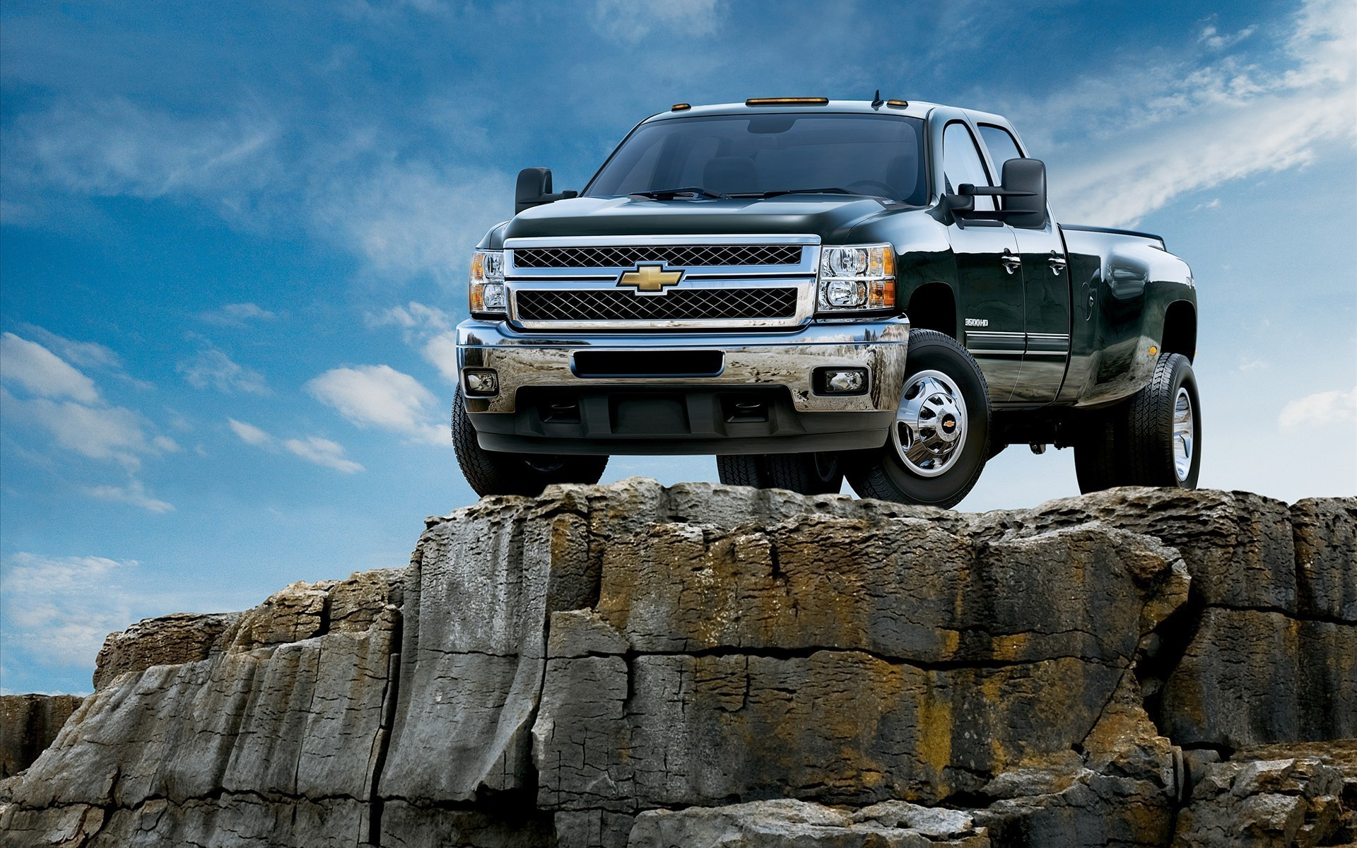 Chevrolet vehicles pickup trucks HD Wallpaper