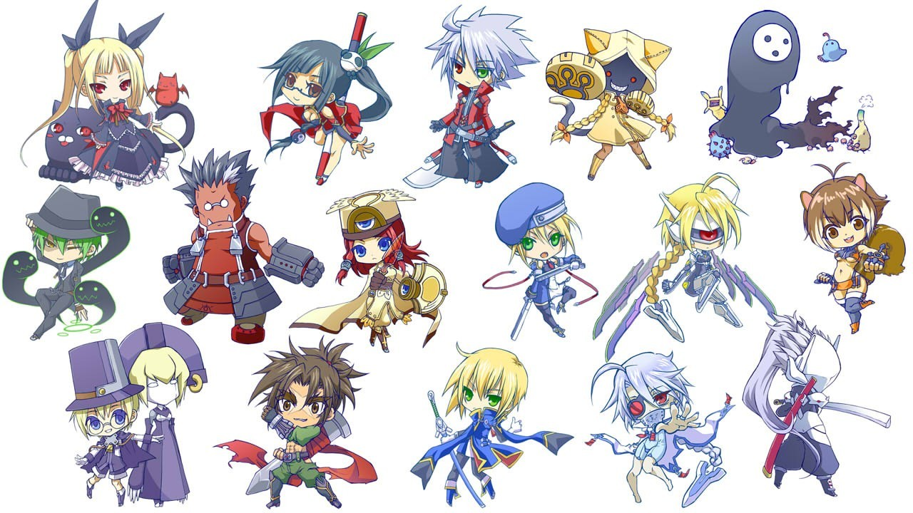 Chibi blazblue HD Wallpaper