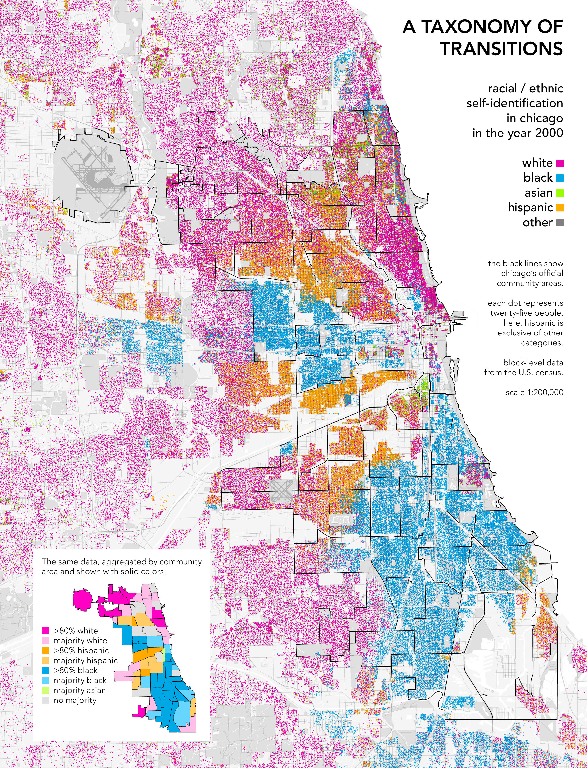 chicagodots race big statistics HD Wallpaper