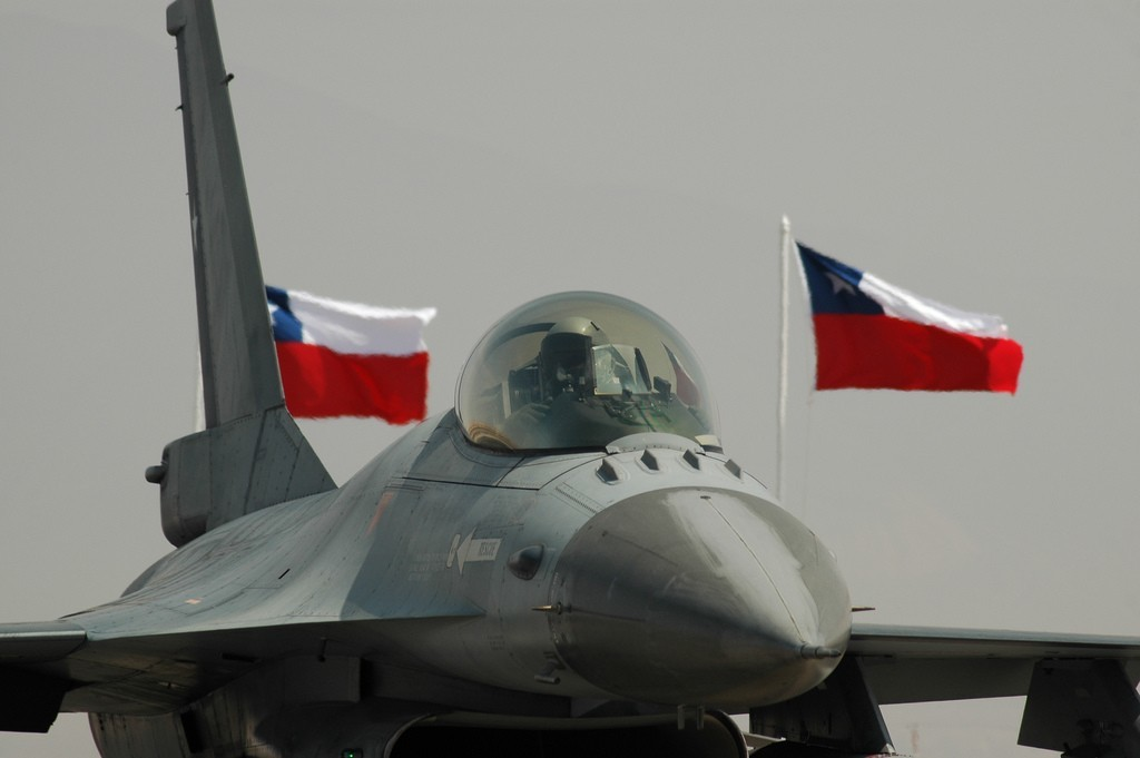 chile f-16 fighting falcon HD Wallpaper