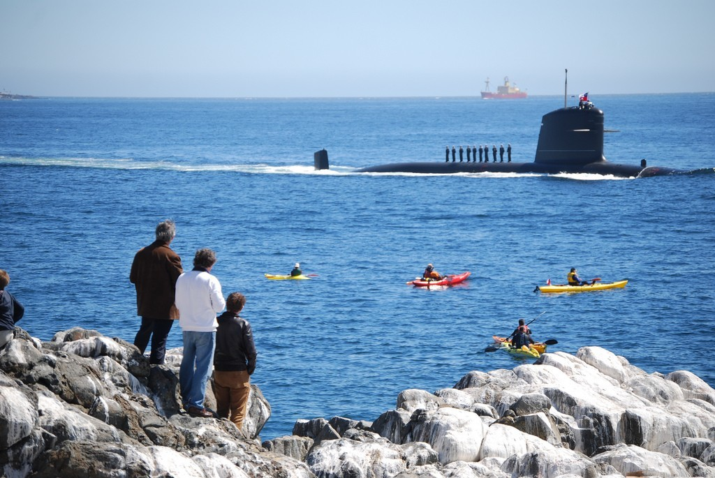 chile submarine Navy kayak HD Wallpaper