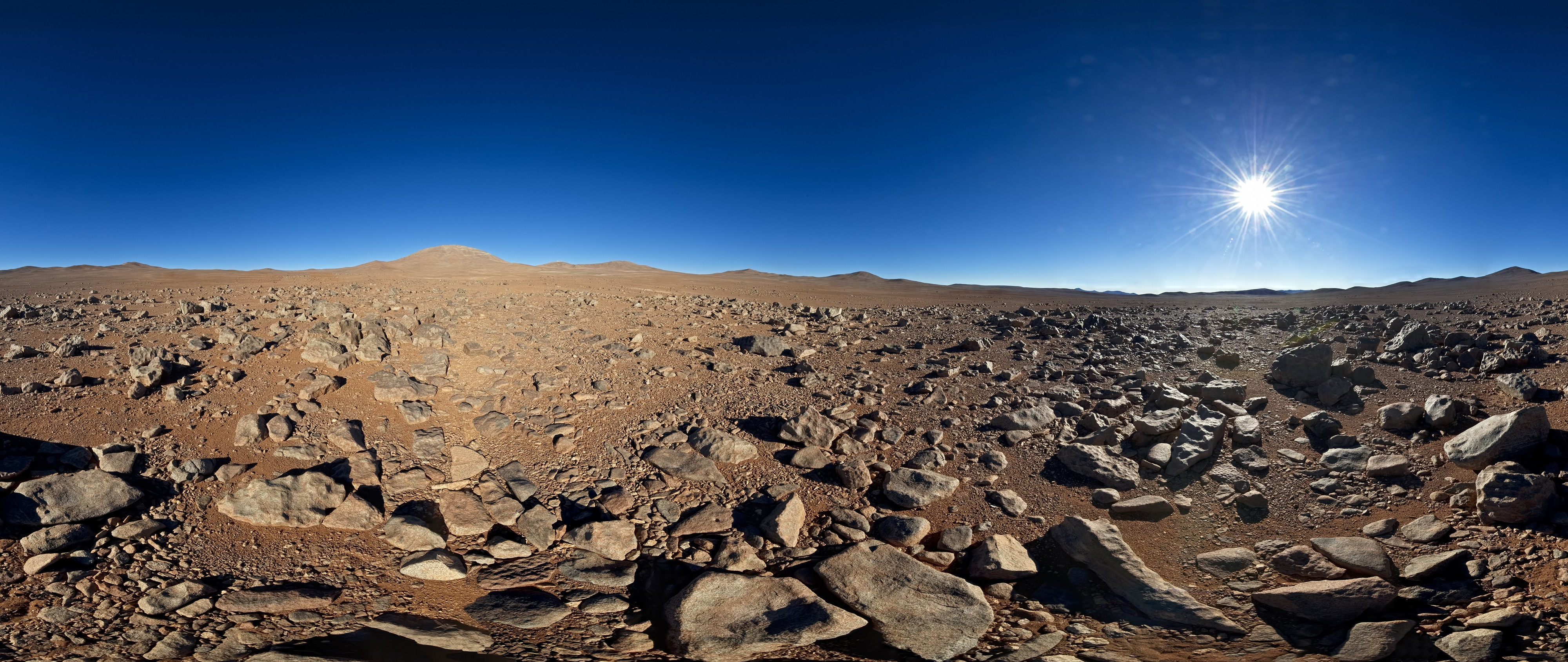 chile sun deserts panorama HD Wallpaper