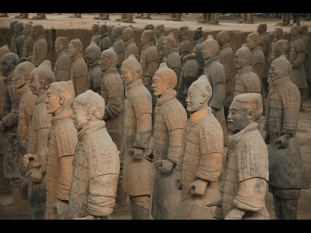 China historic Terracotta Army