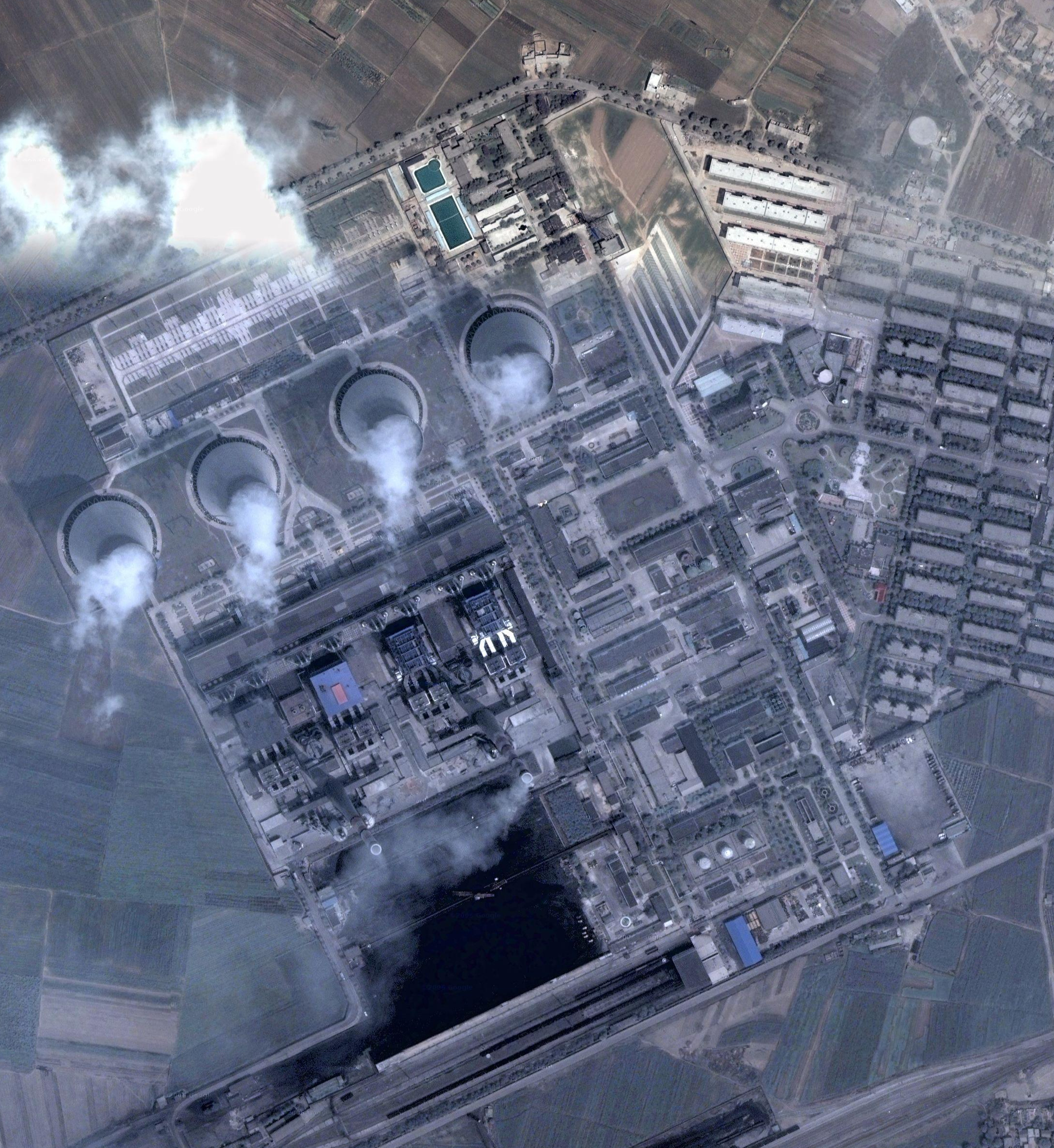 China Nuclear power Plant HD Wallpaper
