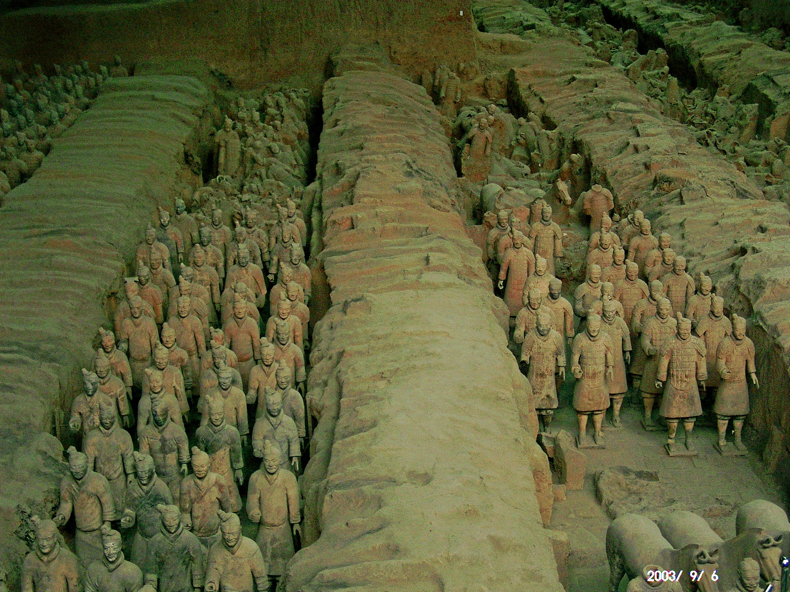 China statues Terracotta Army