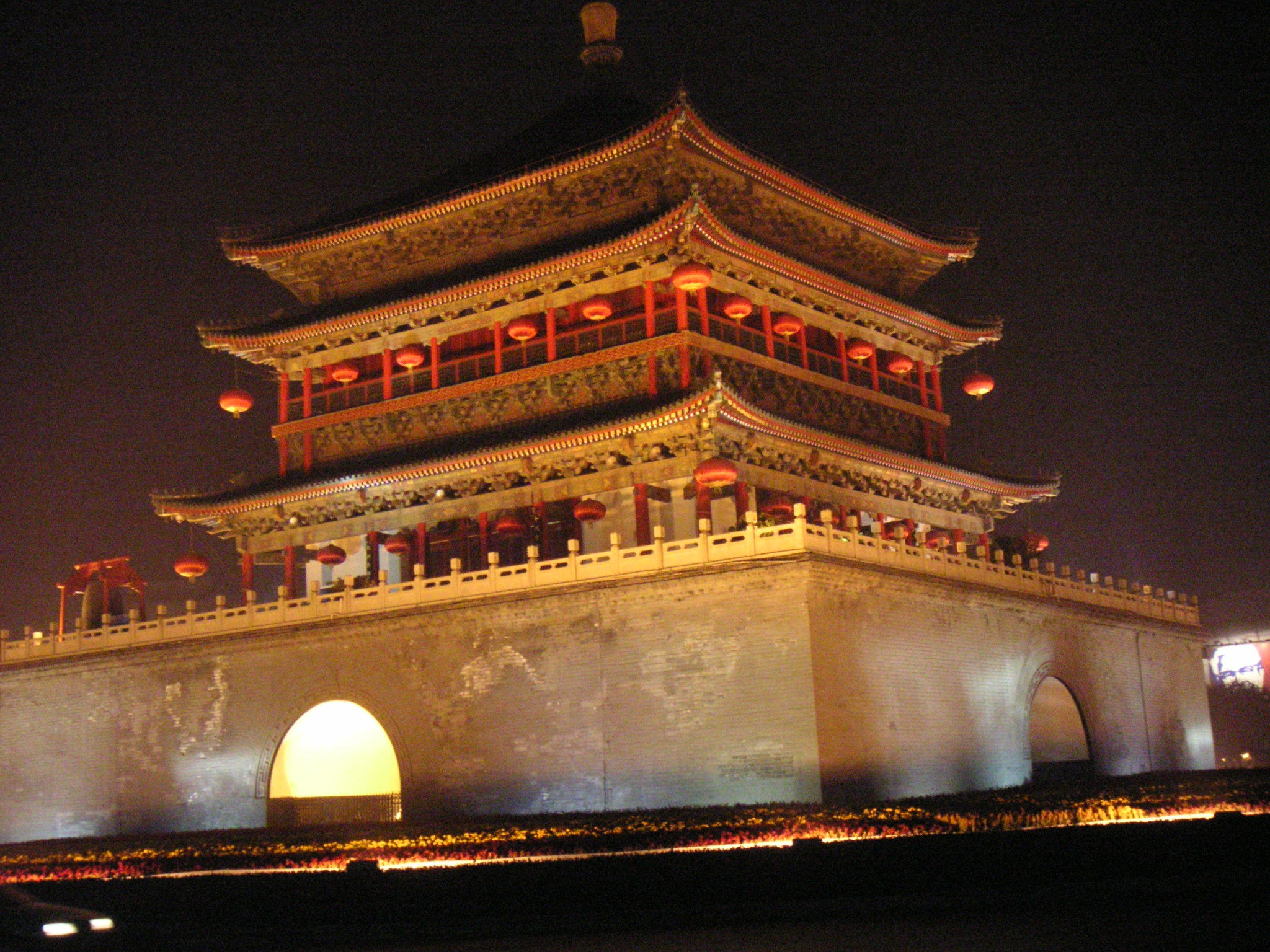 China xian glockenturm high HD Wallpaper