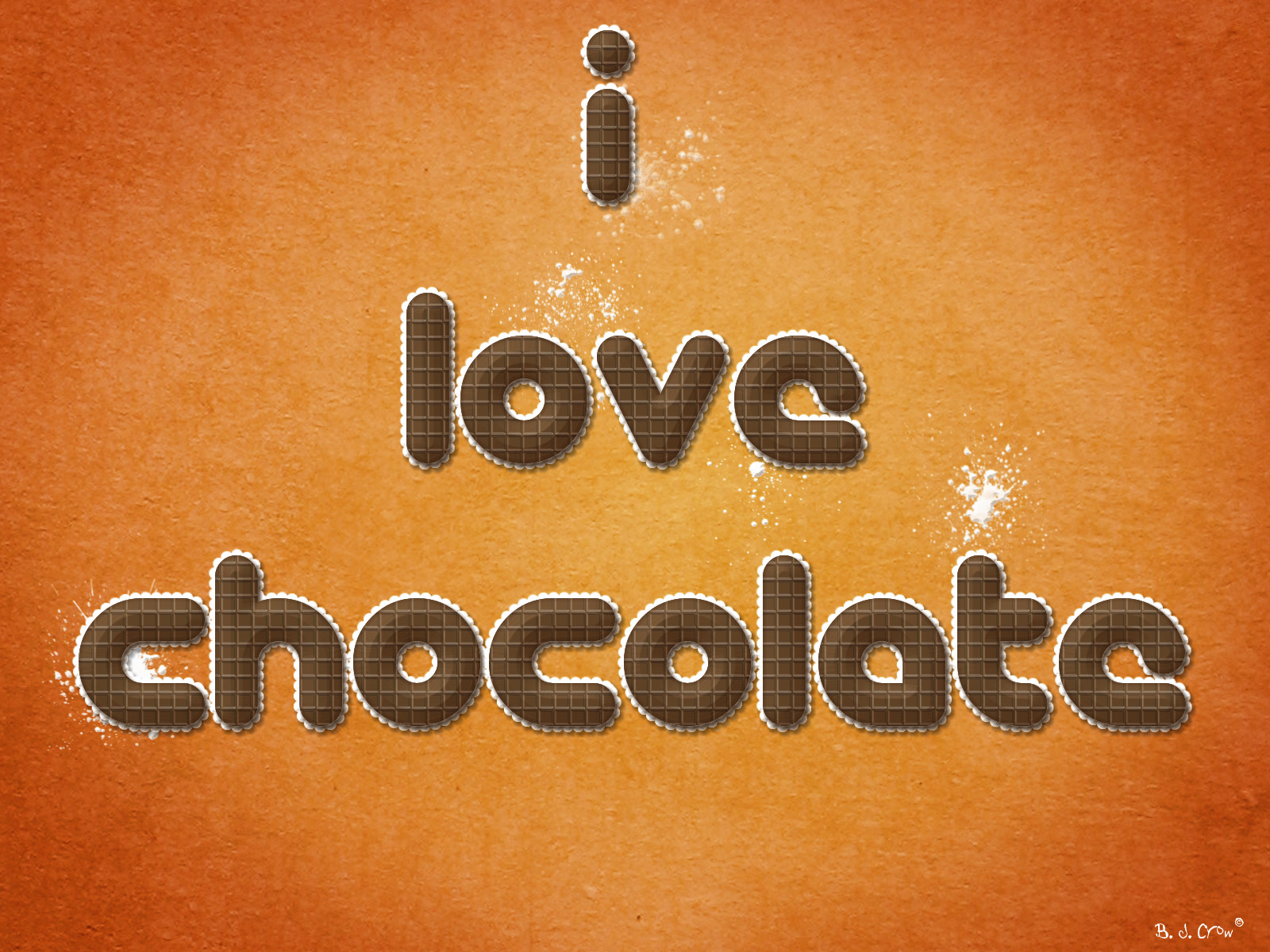 chocolate best widescreen background HD Wallpaper