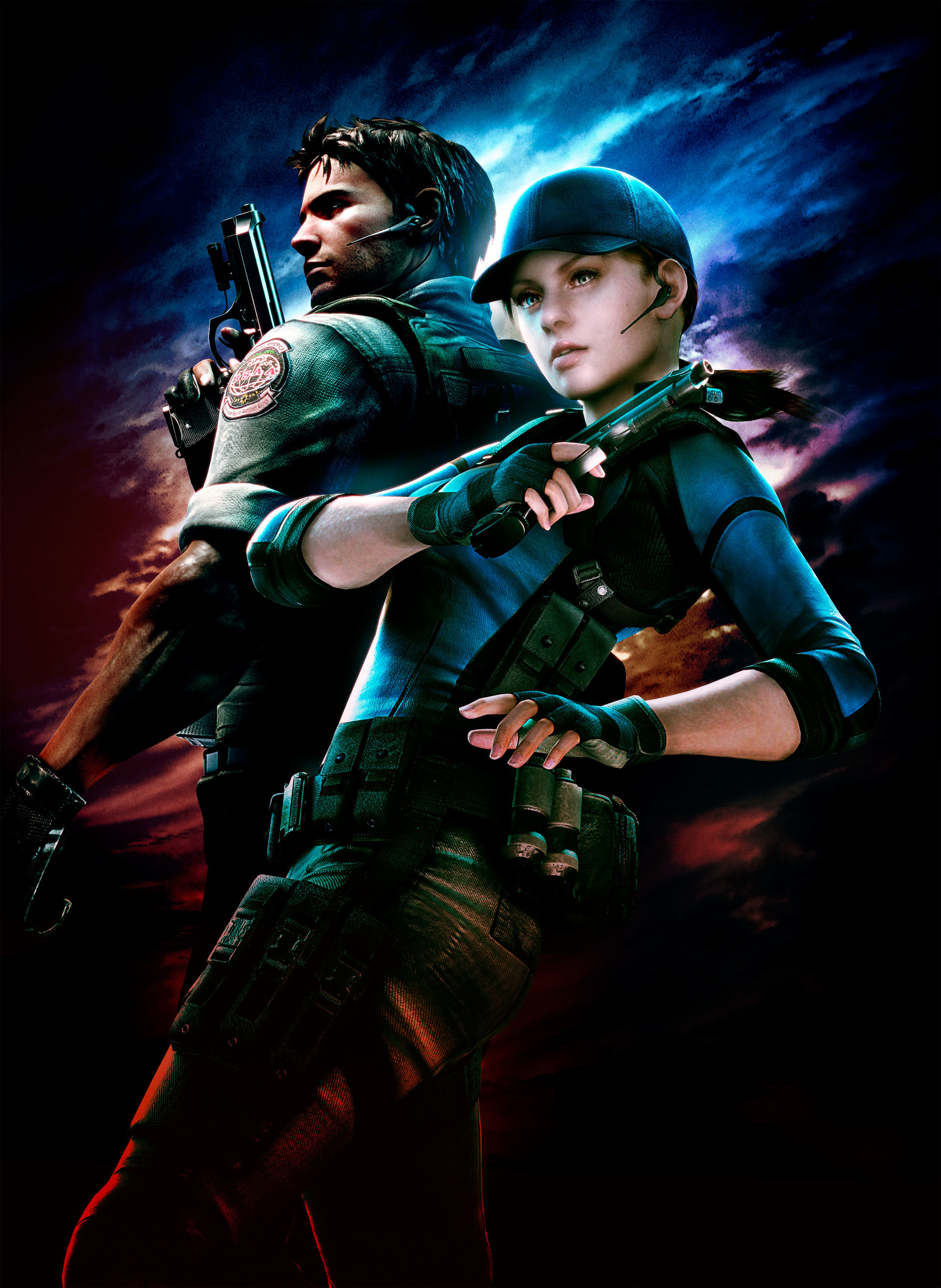 Chris redfield resident evil HD Wallpaper