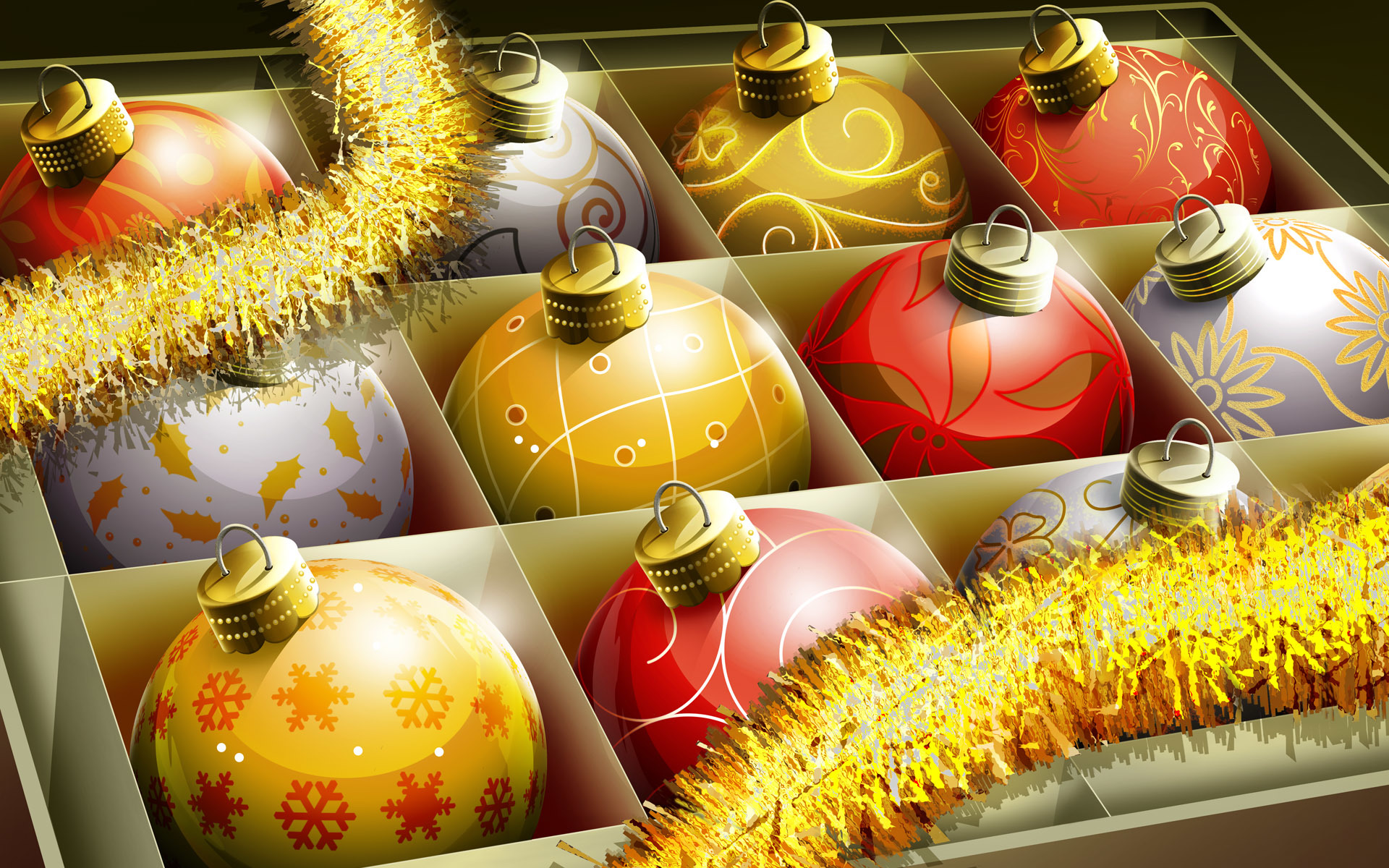 Christmas Christmas and New HD Wallpaper