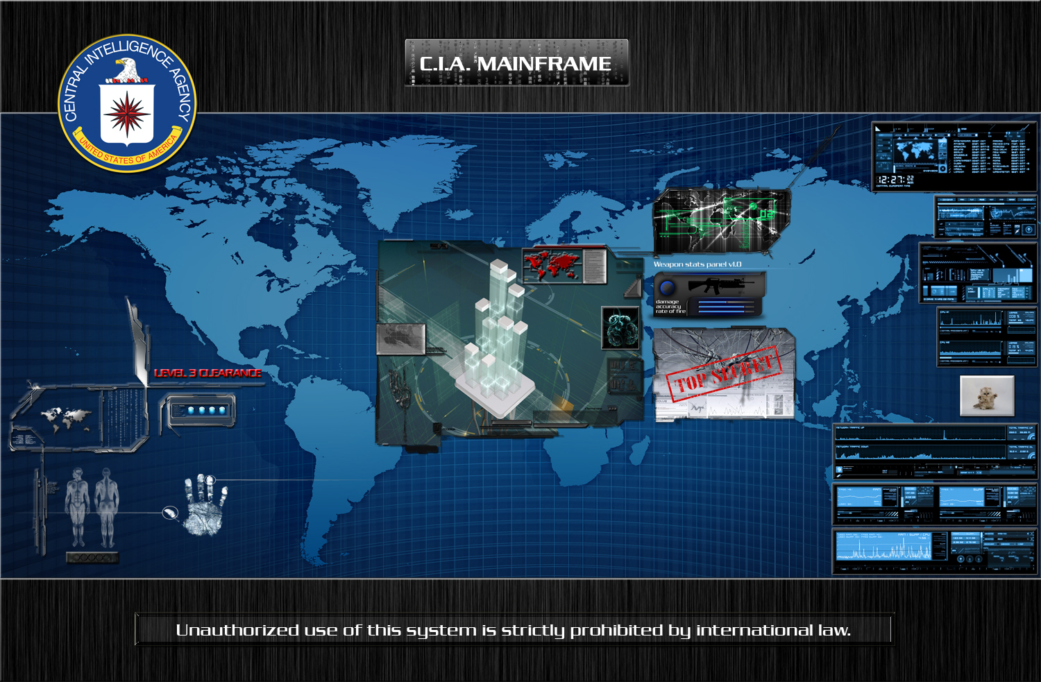 cia mainframe iv just HD Wallpaper