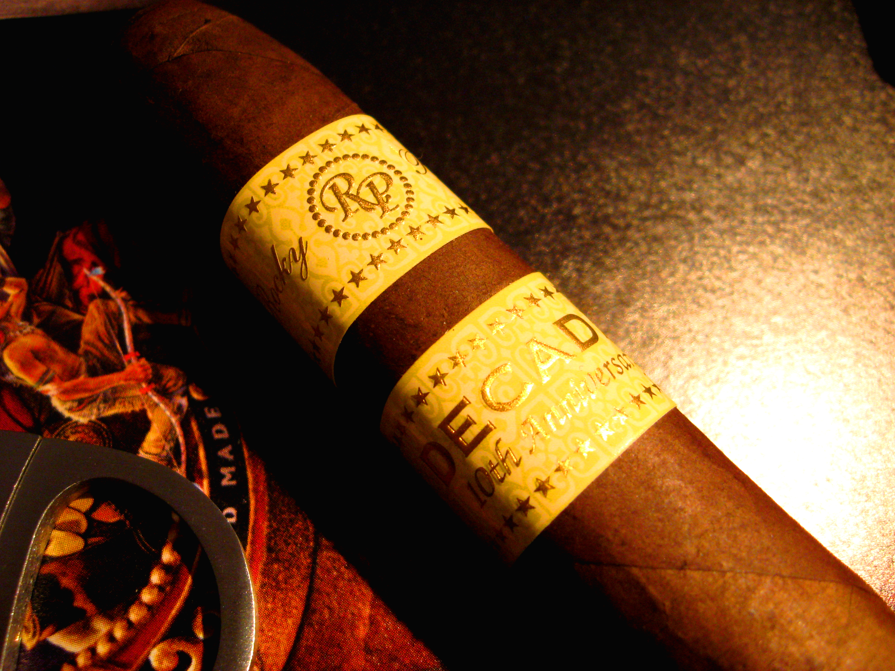 cigars Rocky patel decade HD Wallpaper