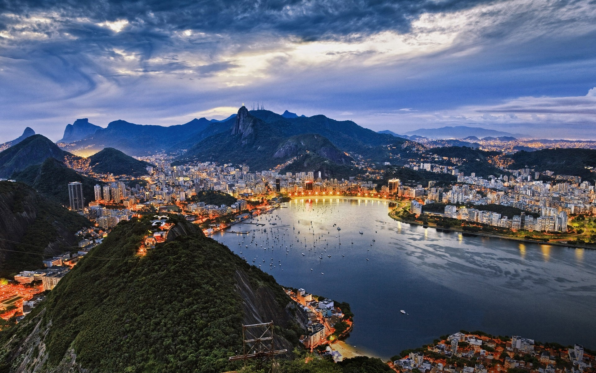 cityscapes Brazil Rio de HD Wallpaper