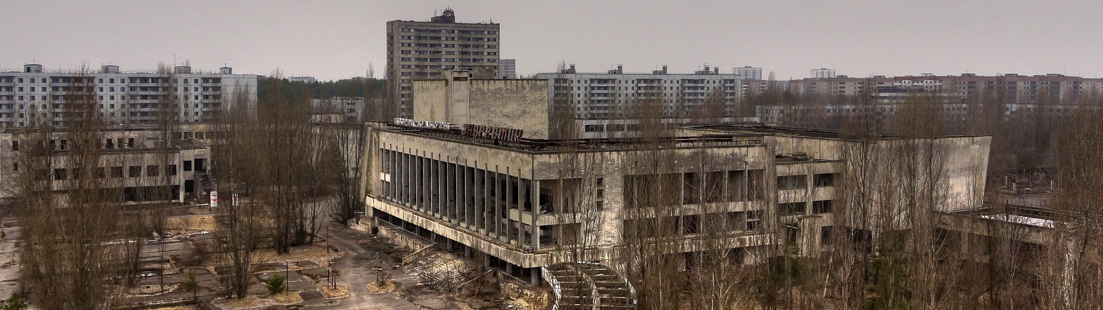 cityscapes buildings Pripyat Chernobyl HD Wallpaper