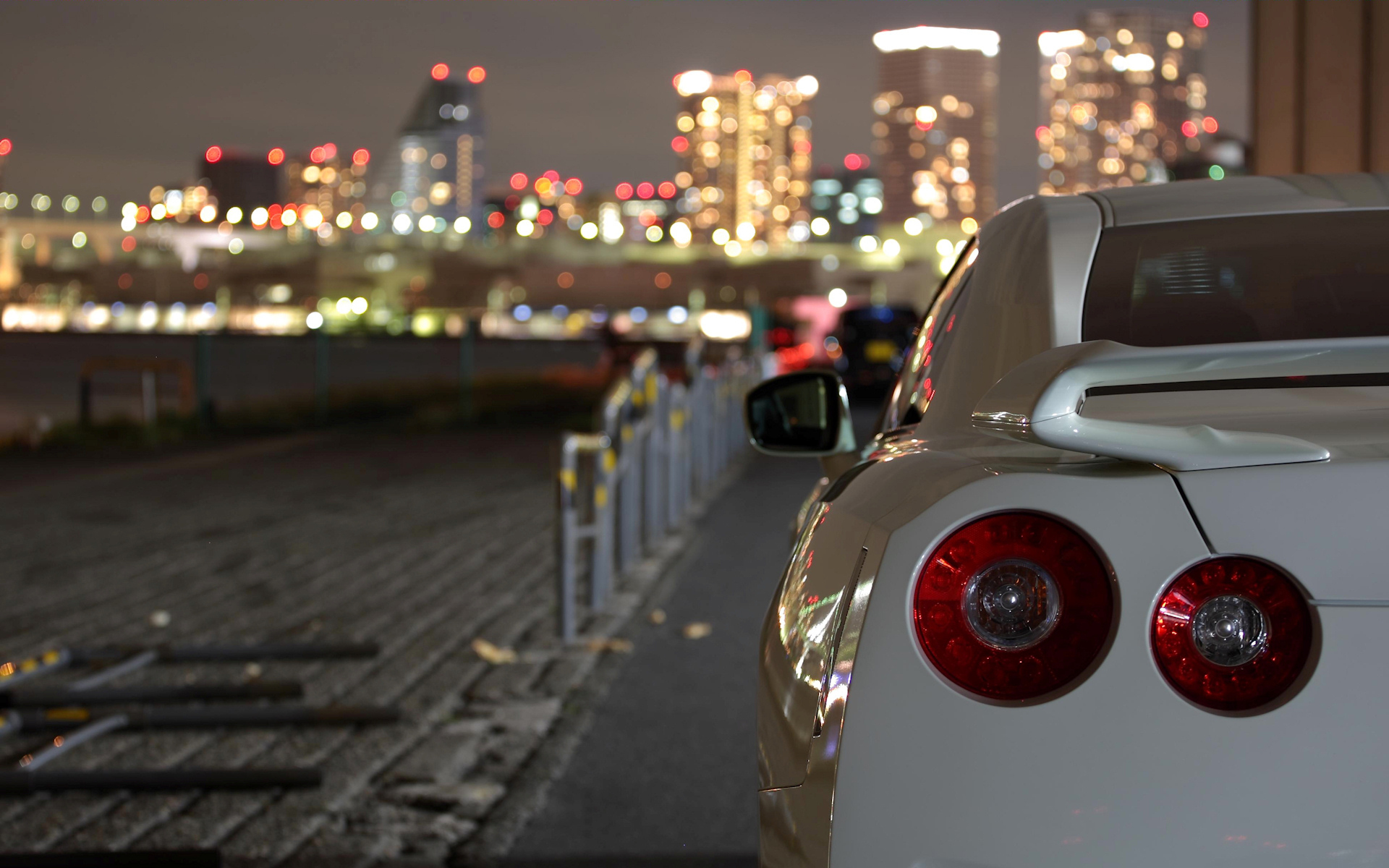 cityscapes cars vehicles white HD Wallpaper