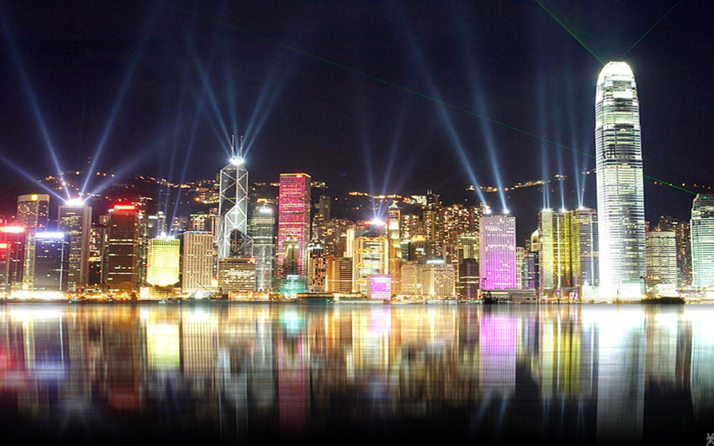 cityscapes lights HD Wallpaper
