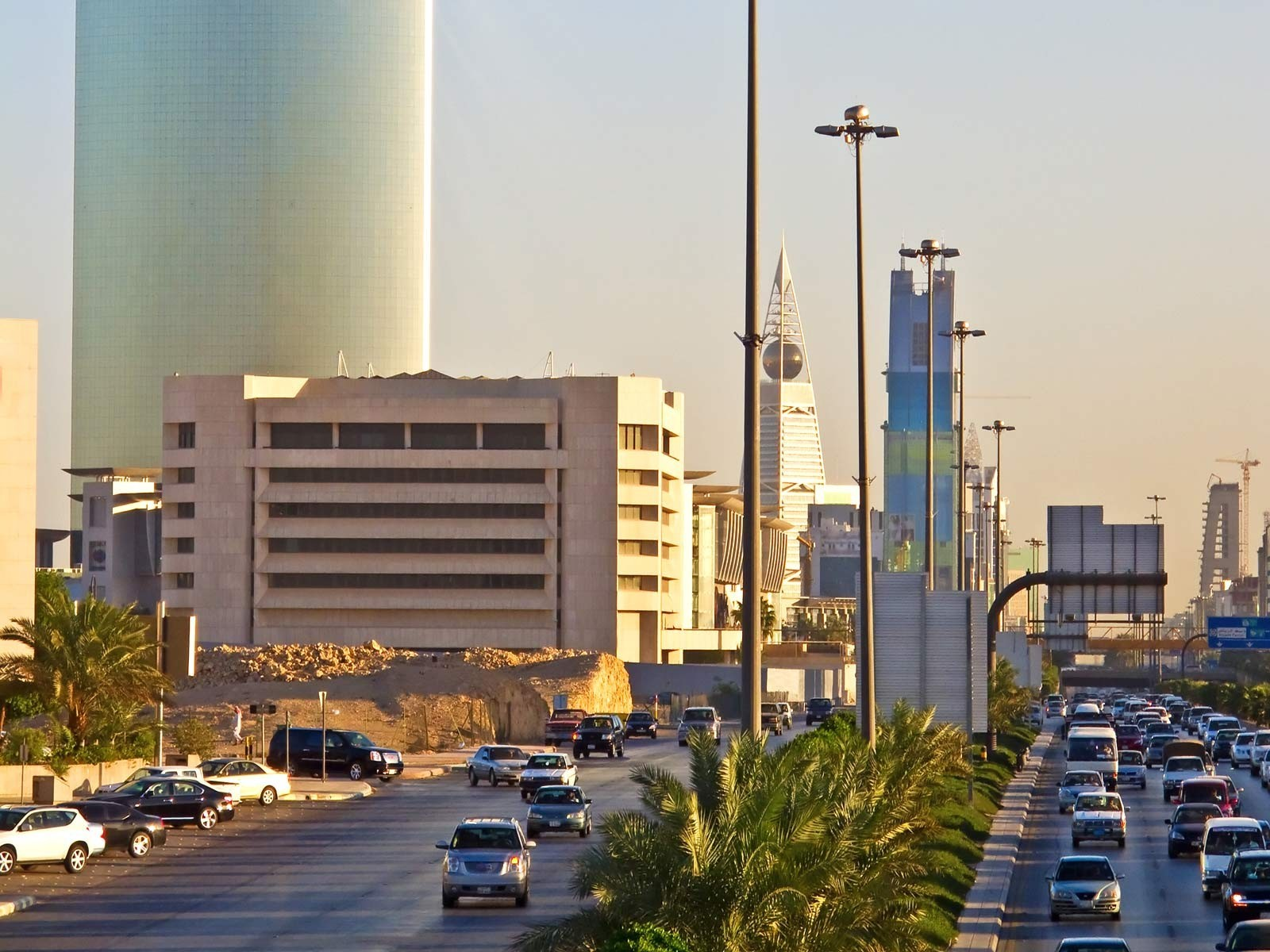 cityscapes Middle East saudi HD Wallpaper