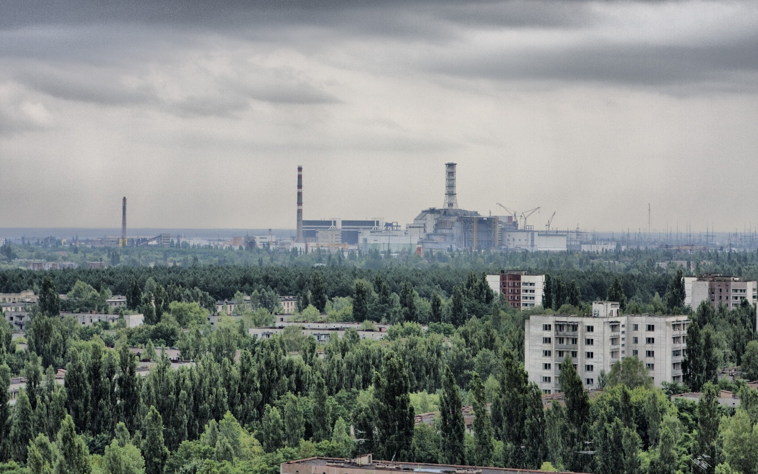 cityscapes Pripyat Chernobyl HD Wallpaper
