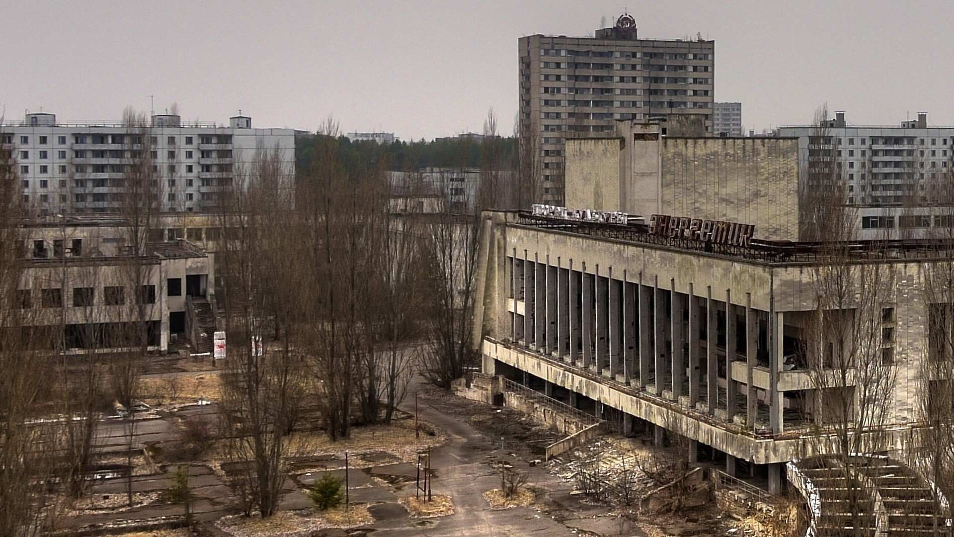 cityscapes Pripyat Chernobyl abandoned HD Wallpaper