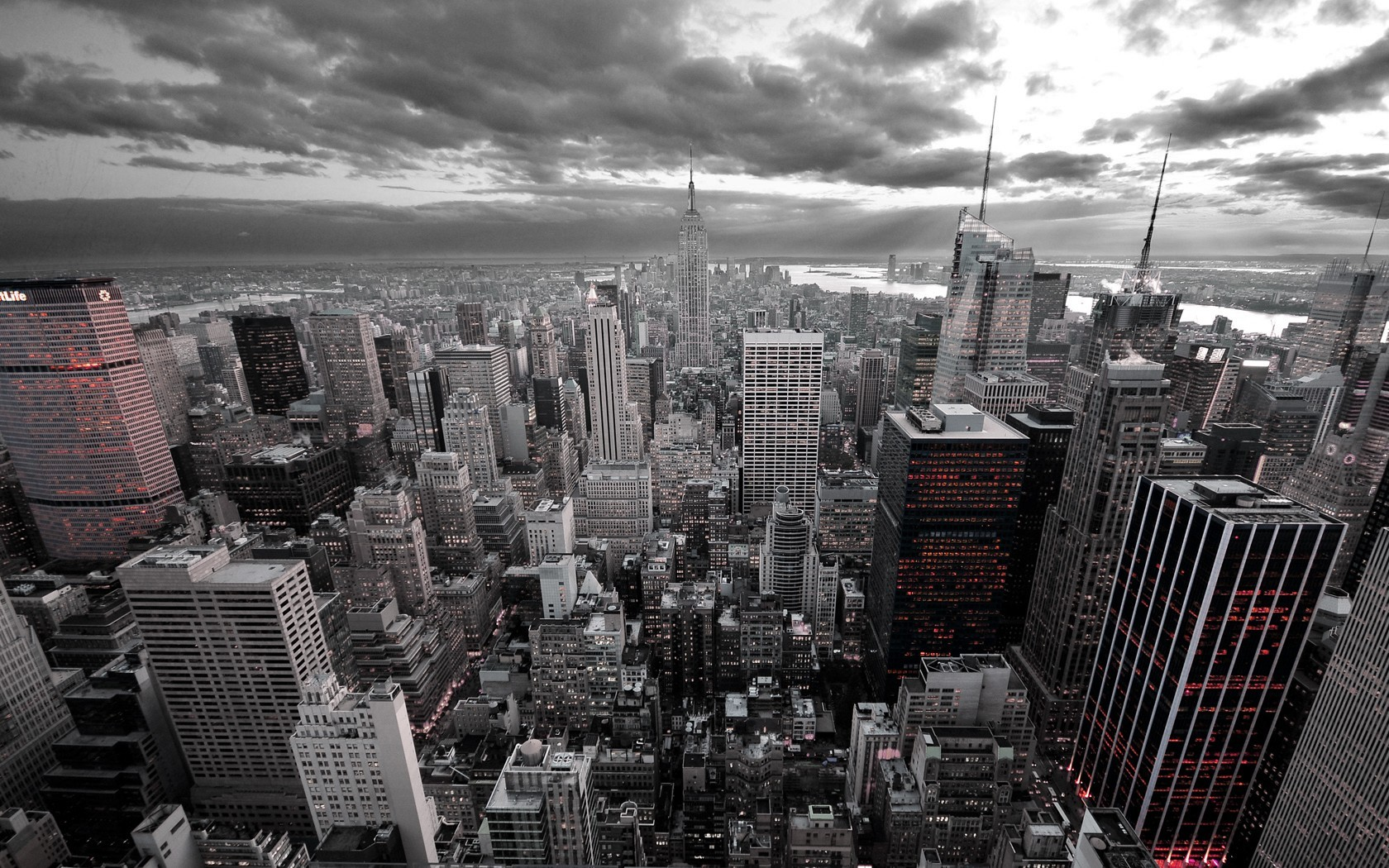 cityscapes skylines buildings empire HD Wallpaper